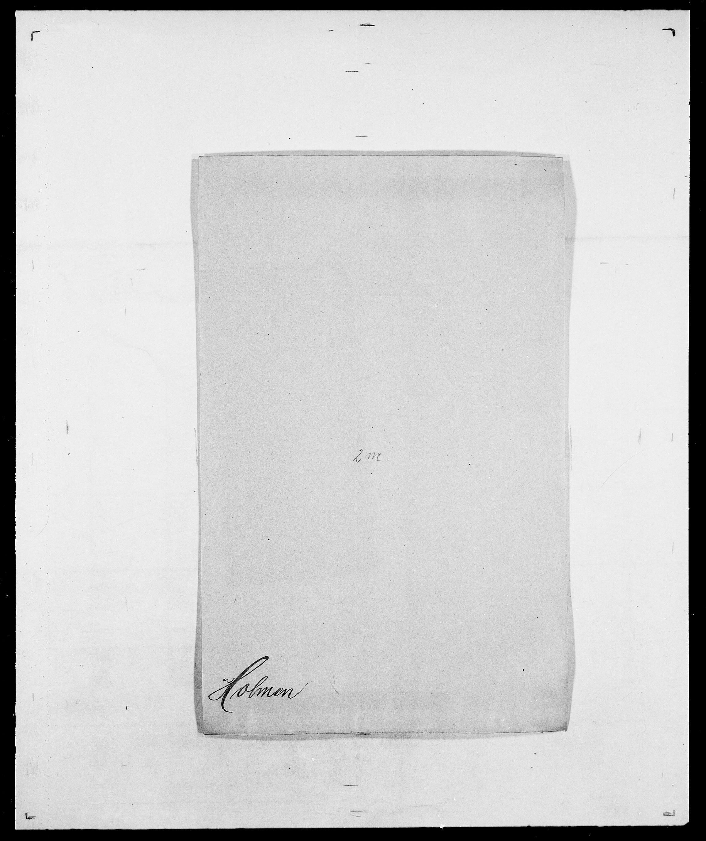 SAO, Delgobe, Charles Antoine - samling, D/Da/L0018: Hoch - Howert, s. 647