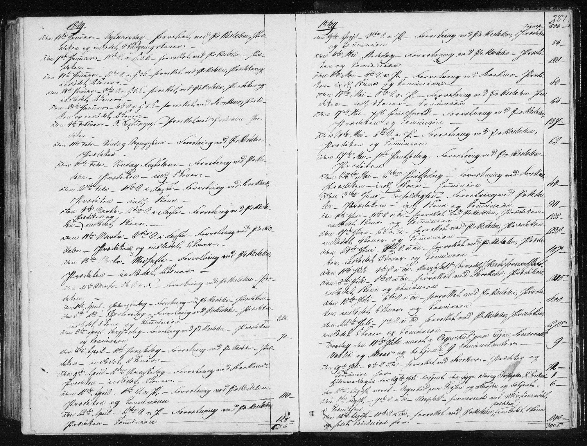 SAT, Ministerialprotokoller, klokkerbøker og fødselsregistre - Sør-Trøndelag, 668/L0805: Ministerialbok nr. 668A05, 1840-1853, s. 387