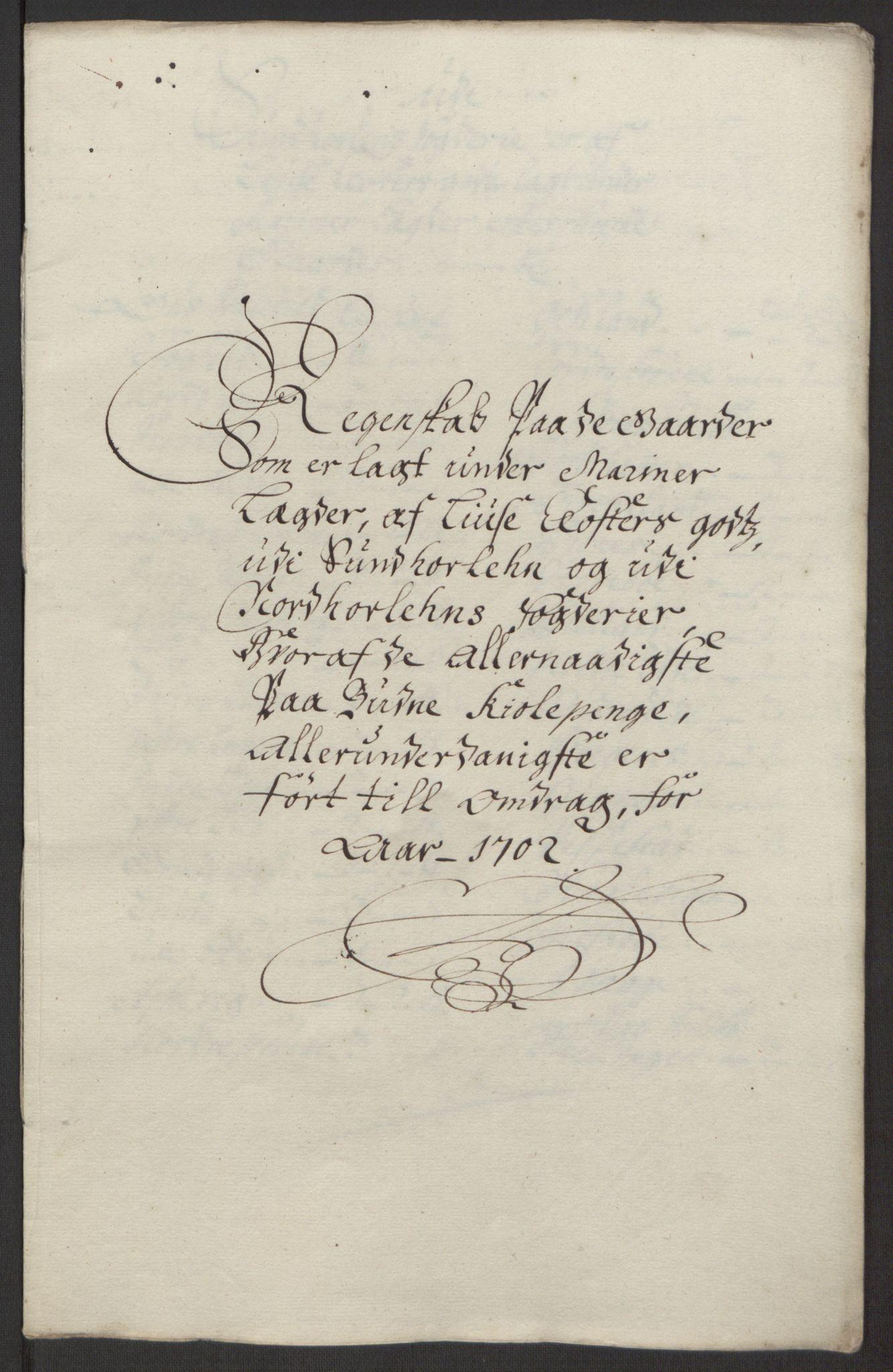 RA, Rentekammeret inntil 1814, Reviderte regnskaper, Fogderegnskap, R50/L3159: Fogderegnskap Lyse kloster, 1691-1709, s. 166