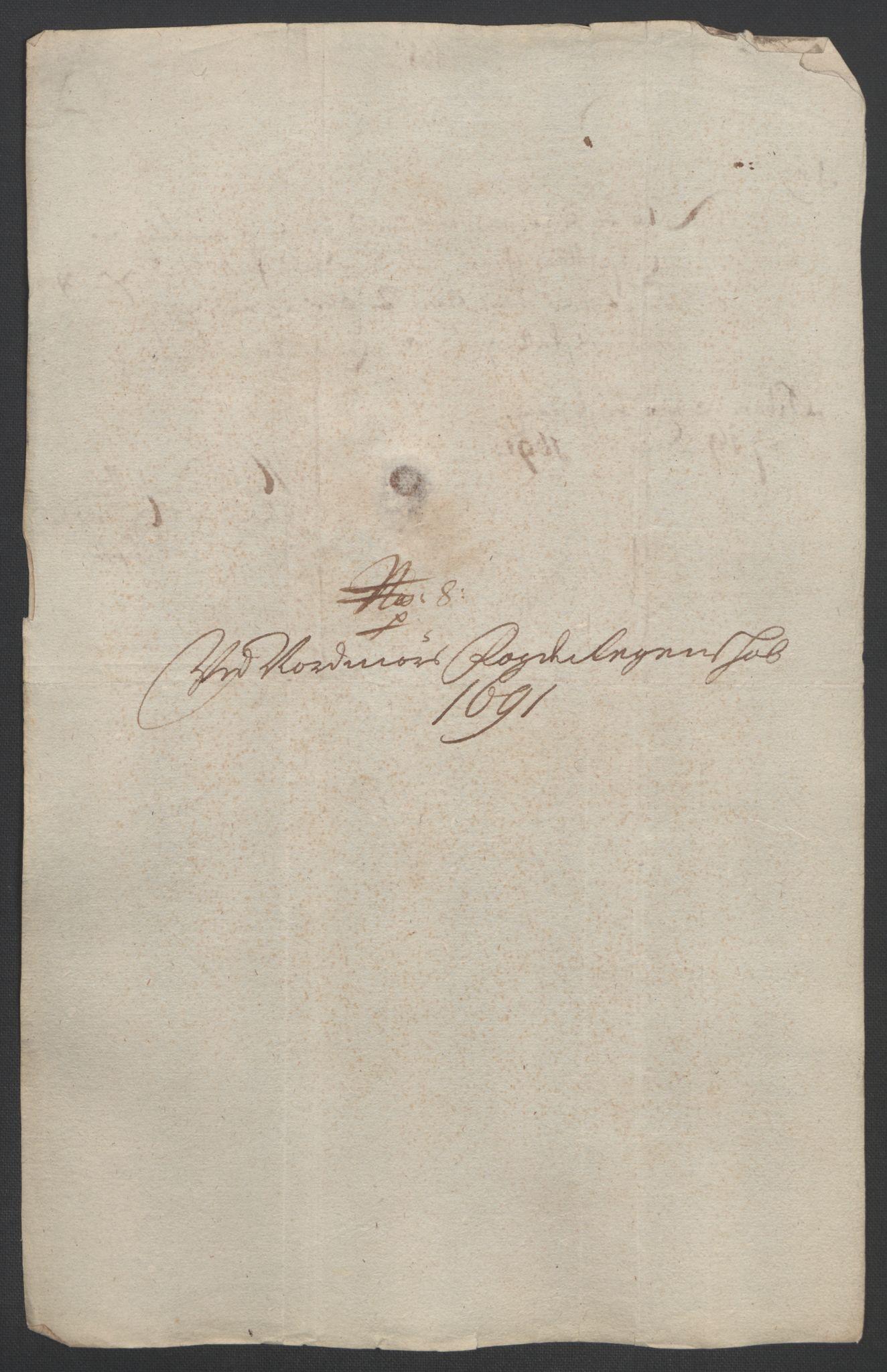 RA, Rentekammeret inntil 1814, Reviderte regnskaper, Fogderegnskap, R56/L3734: Fogderegnskap Nordmøre, 1690-1691, s. 418