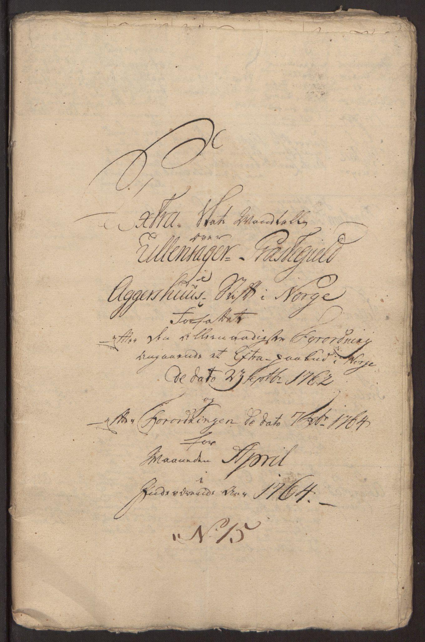 RA, Rentekammeret inntil 1814, Reviderte regnskaper, Fogderegnskap, R12/L0803: Ekstraskatten Øvre Romerike, 1763-1764, s. 376