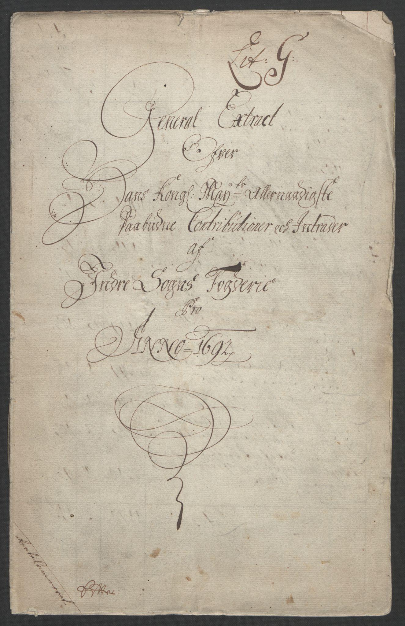 RA, Rentekammeret inntil 1814, Reviderte regnskaper, Fogderegnskap, R52/L3306: Fogderegnskap Sogn, 1691-1692, s. 106