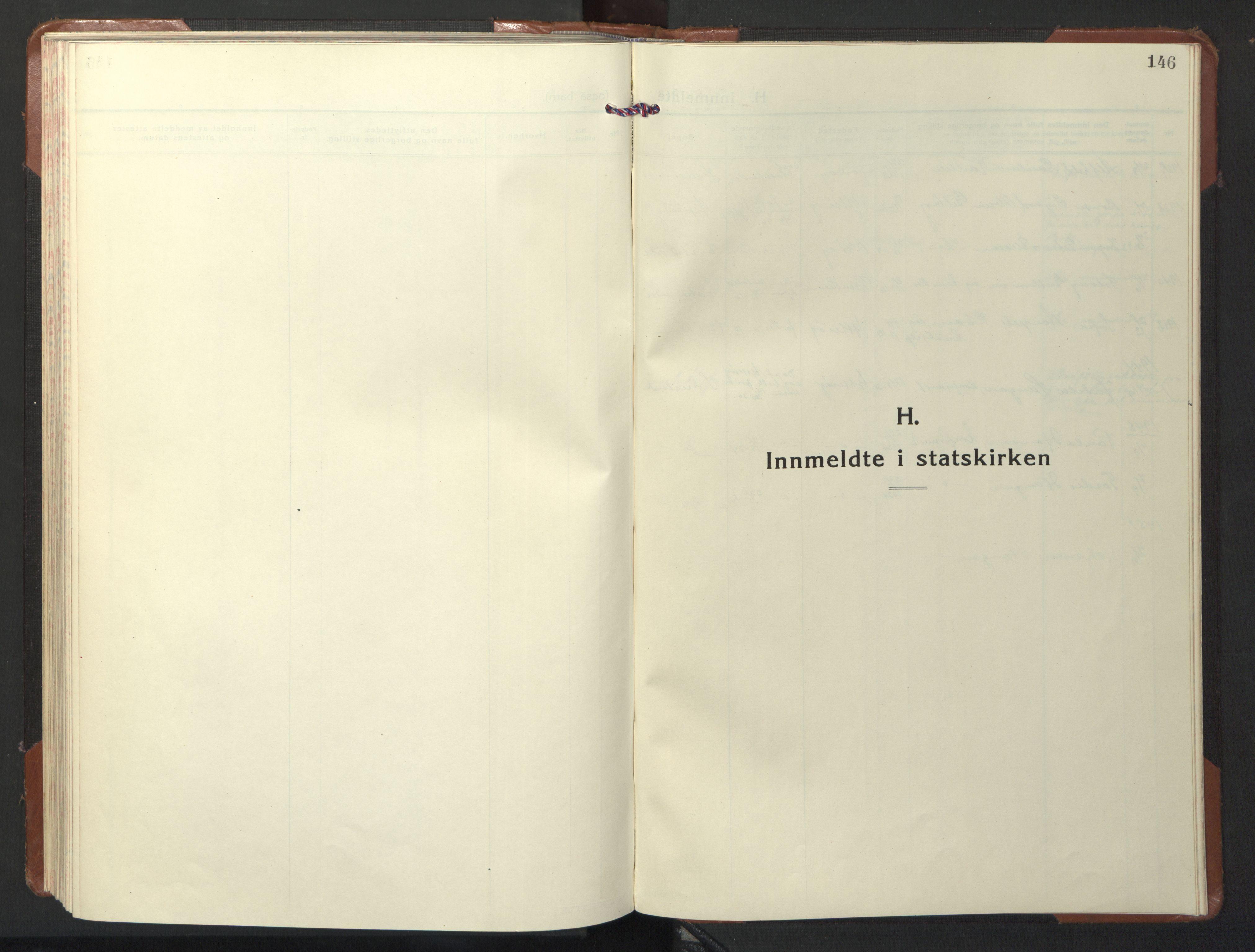 SAT, Ministerialprotokoller, klokkerbøker og fødselsregistre - Nord-Trøndelag, 722/L0227: Klokkerbok nr. 722C03, 1928-1958, s. 146