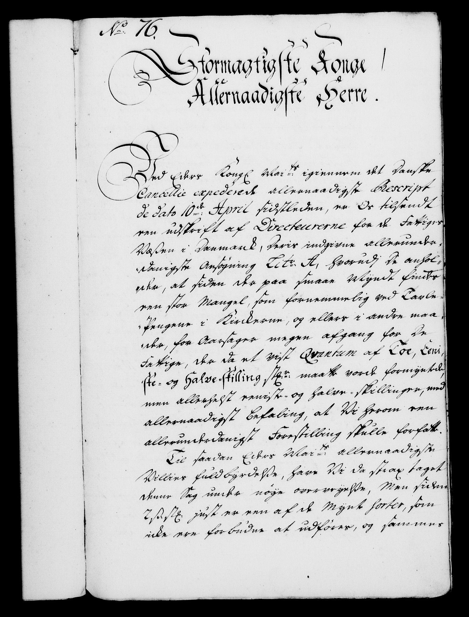 RA, Rentekammeret, Kammerkanselliet, G/Gf/Gfa/L0028: Norsk relasjons- og resolusjonsprotokoll (merket RK 52.28), 1745-1746, s. 457