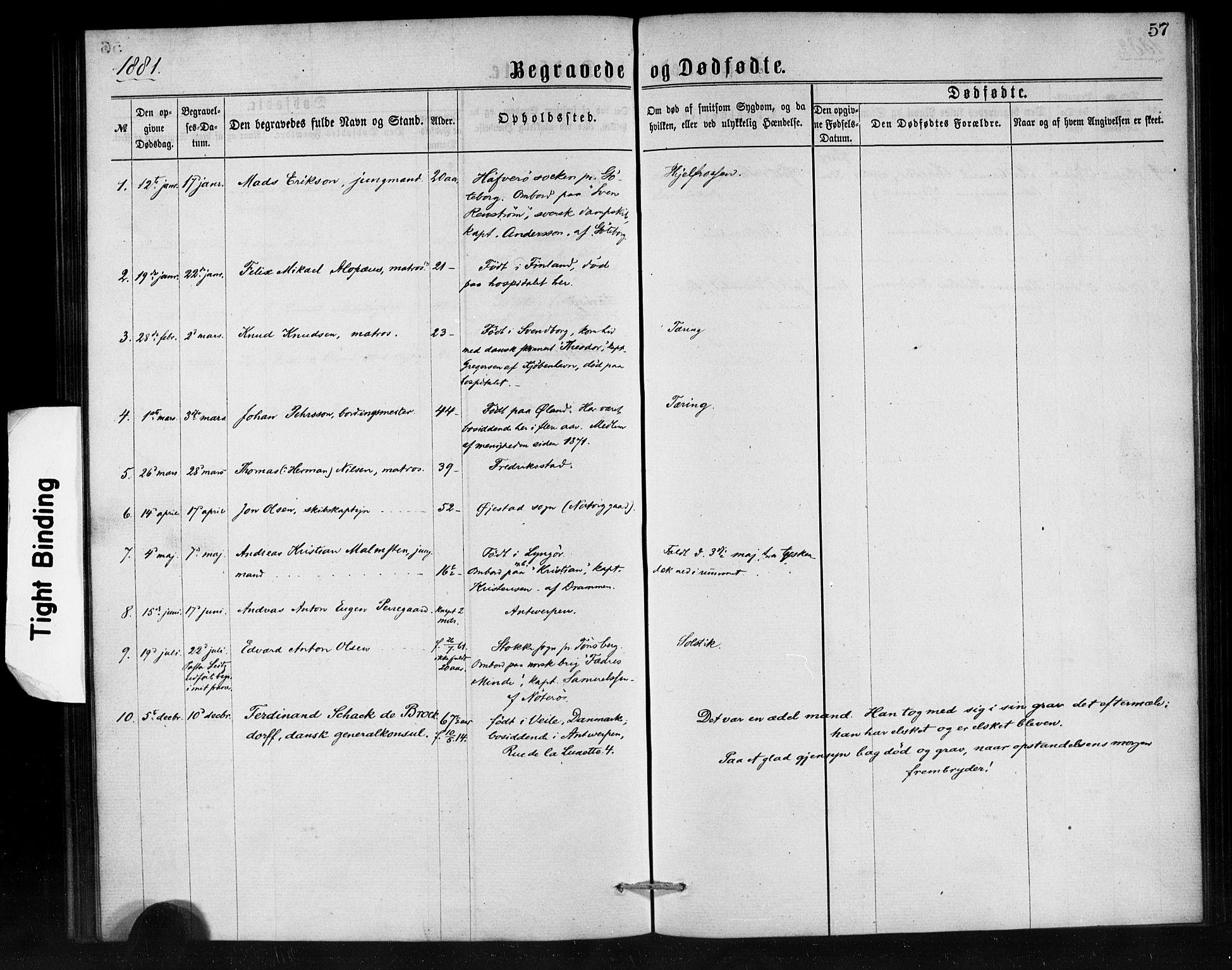 SAB, Den Norske Sjømannsmisjon i utlandet*, Ministerialbok nr. A 1, 1865-1887, s. 57
