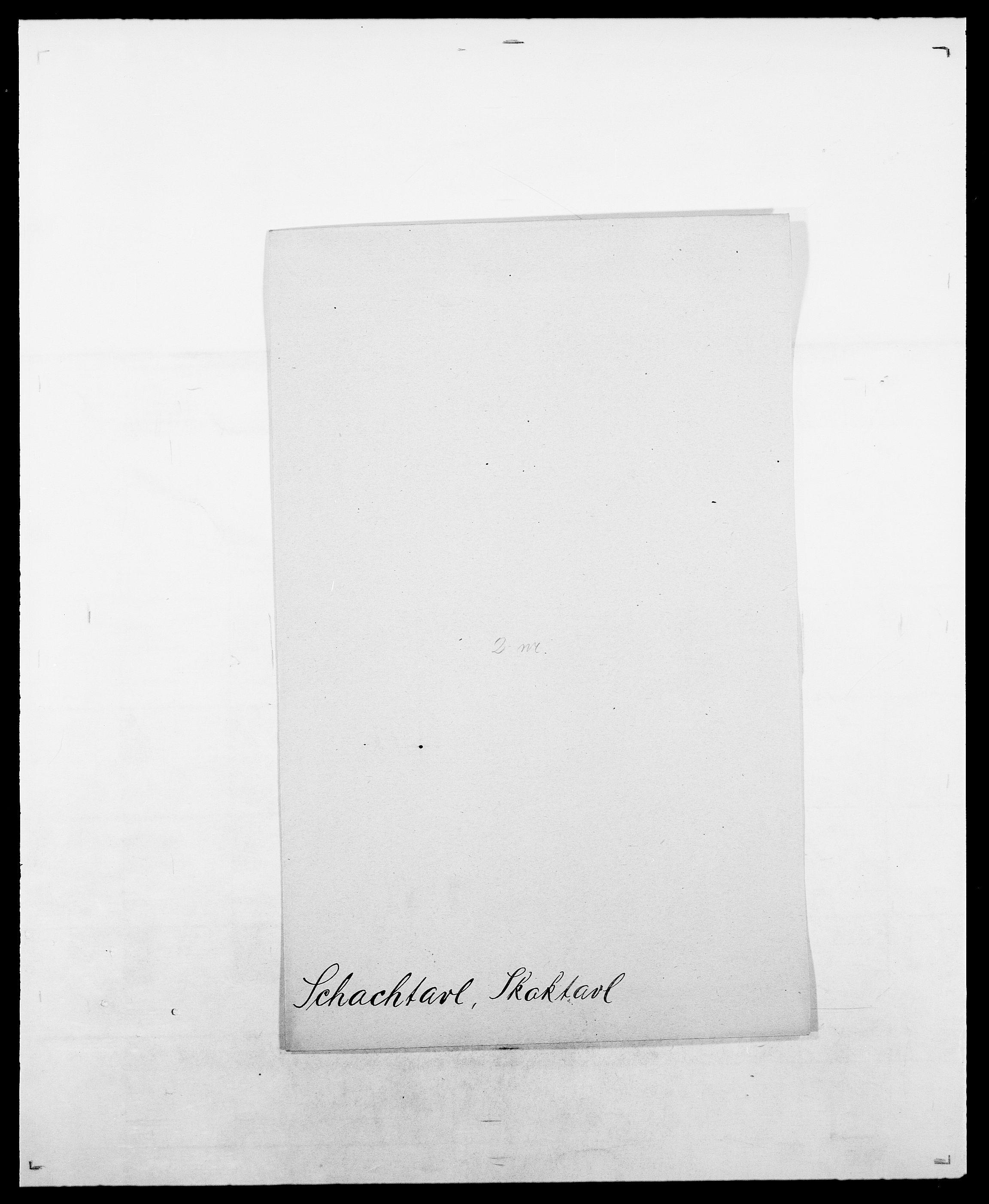 SAO, Delgobe, Charles Antoine - samling, D/Da/L0034: Saabye - Schmincke, s. 306