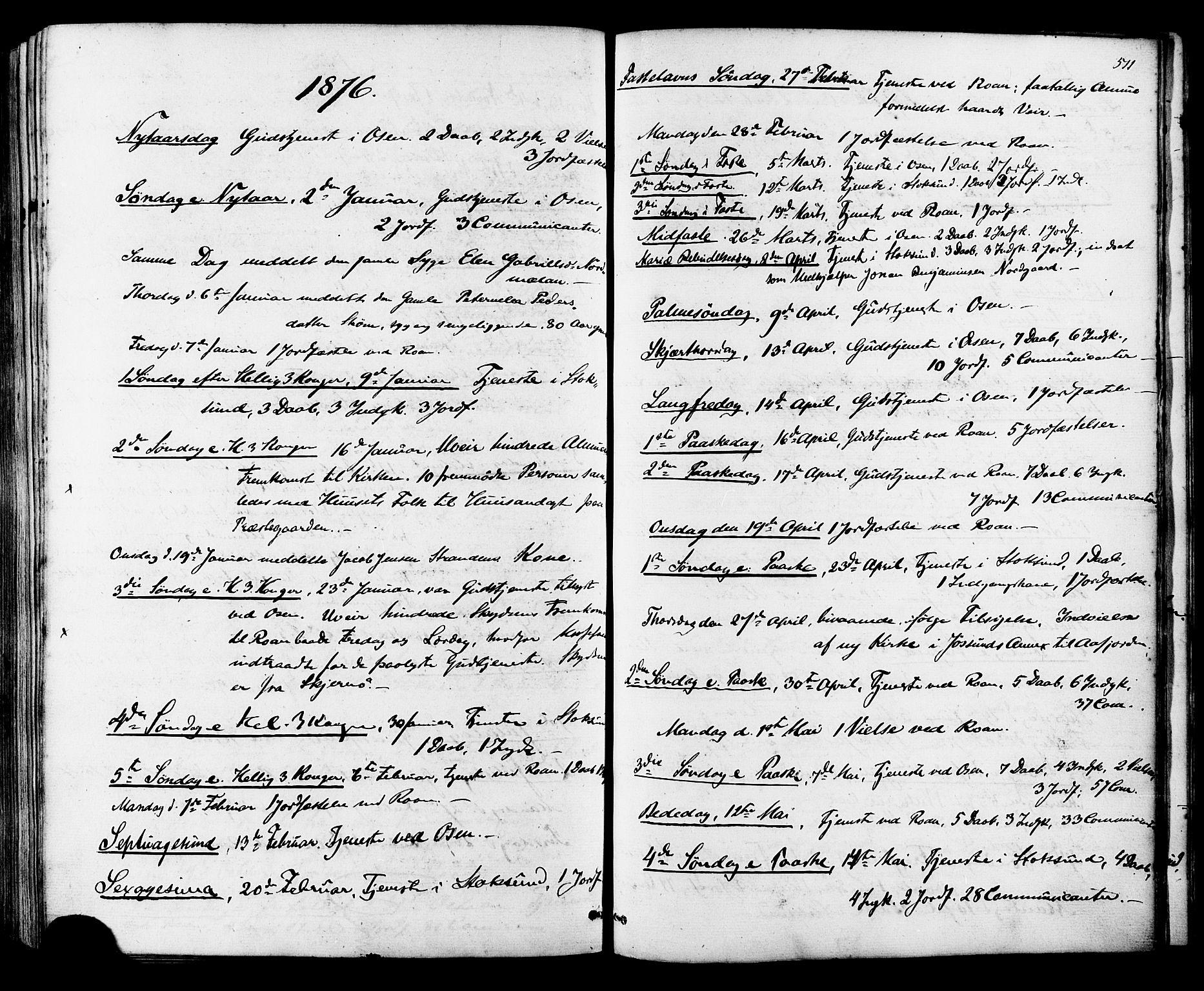 SAT, Ministerialprotokoller, klokkerbøker og fødselsregistre - Sør-Trøndelag, 657/L0706: Ministerialbok nr. 657A07, 1867-1878, s. 511