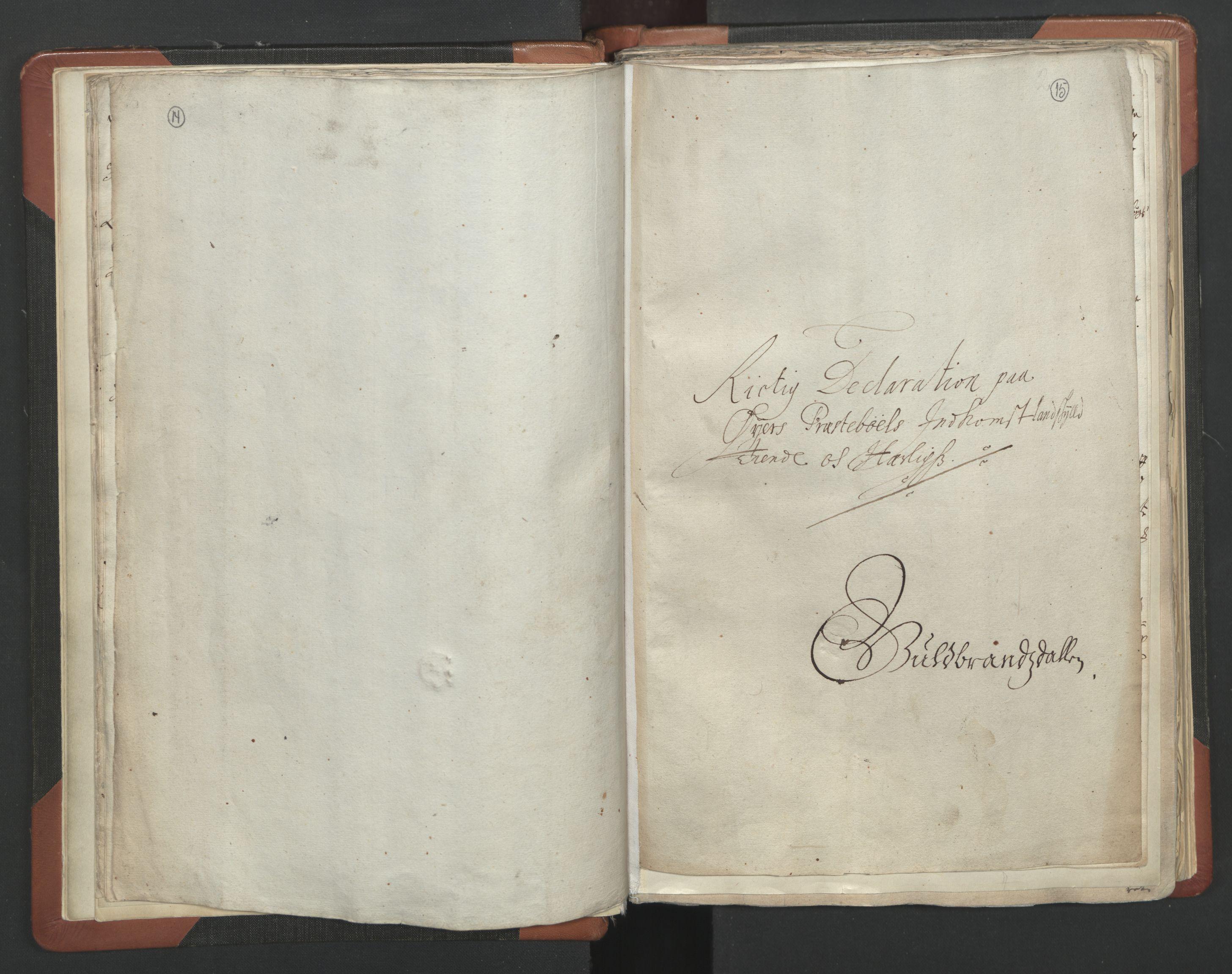 RA, Sogneprestenes manntall 1664-1666, nr. 6: Gudbrandsdal prosti, 1664-1666, s. 14-15