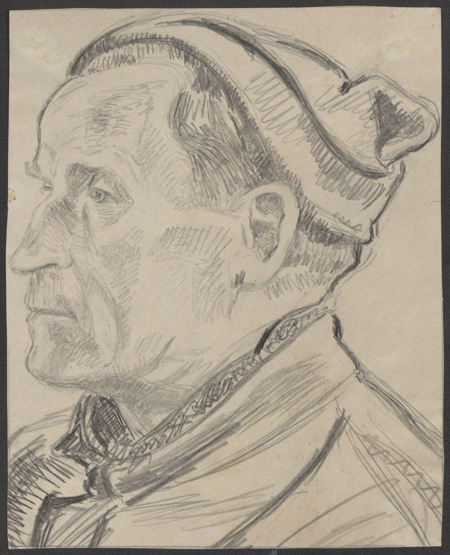 RA, Grøgaard, Joachim, F/L0002: Tegninger og tekster, 1942-1945, s. 50