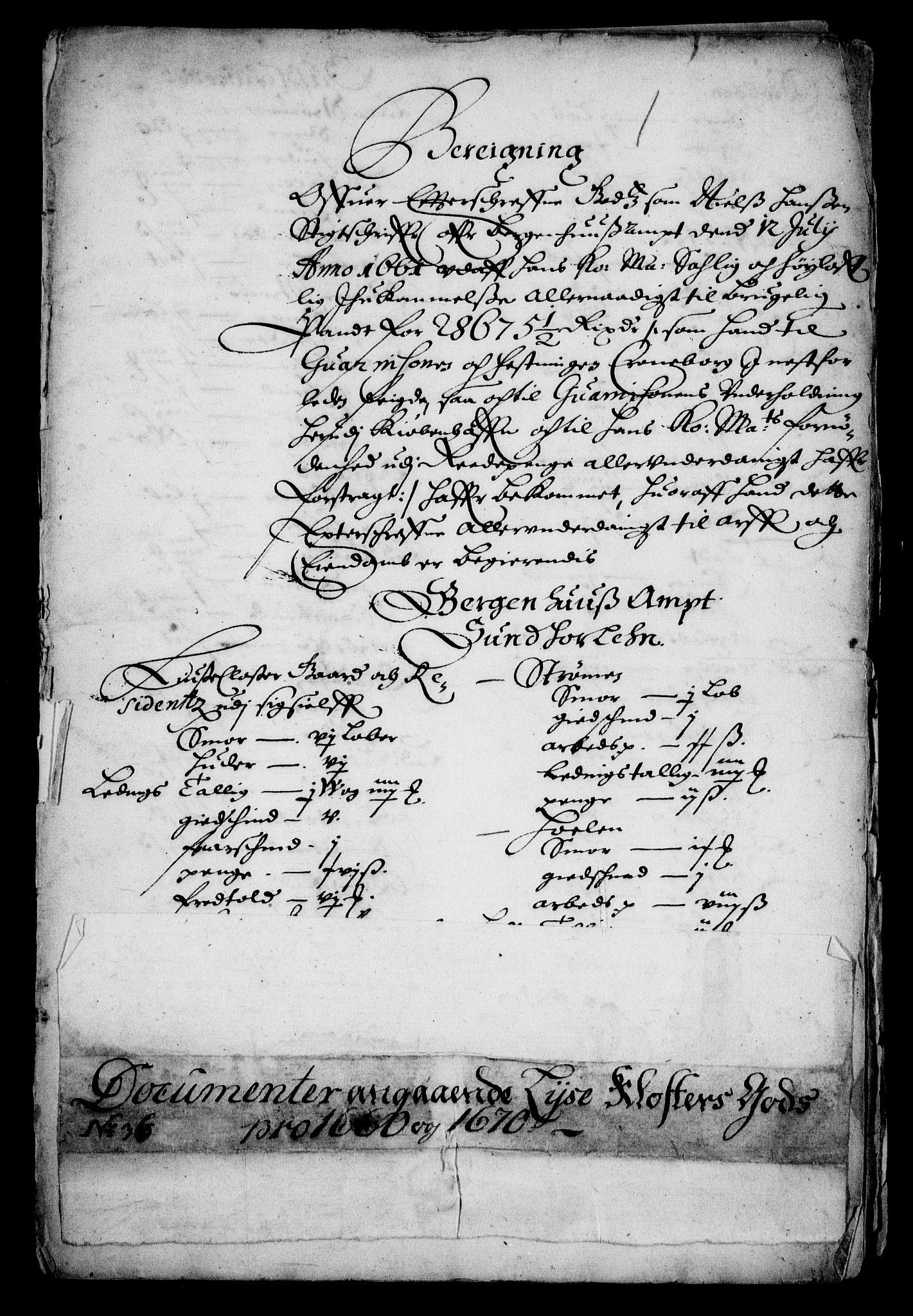 RA, Rentekammeret inntil 1814, Realistisk ordnet avdeling, On/L0010: [Jj 11]: Salg av krongods i Norge, 1661-1704, s. 579