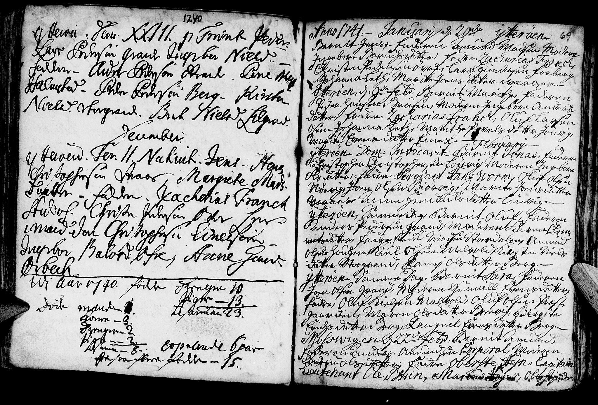 SAT, Ministerialprotokoller, klokkerbøker og fødselsregistre - Nord-Trøndelag, 722/L0215: Ministerialbok nr. 722A02, 1718-1755, s. 69