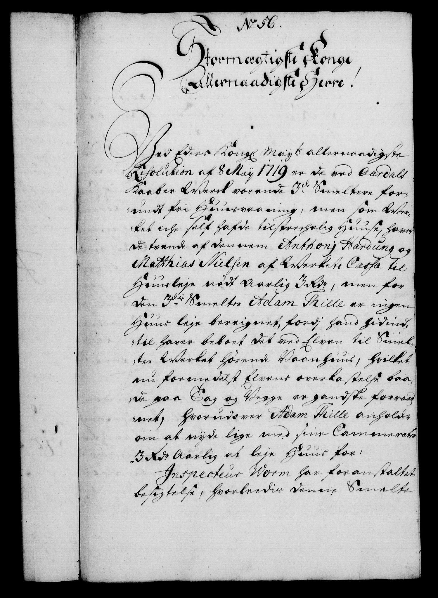 RA, Rentekammeret, Kammerkanselliet, G/Gf/Gfa/L0012: Norsk relasjons- og resolusjonsprotokoll (merket RK 52.12), 1729, s. 304