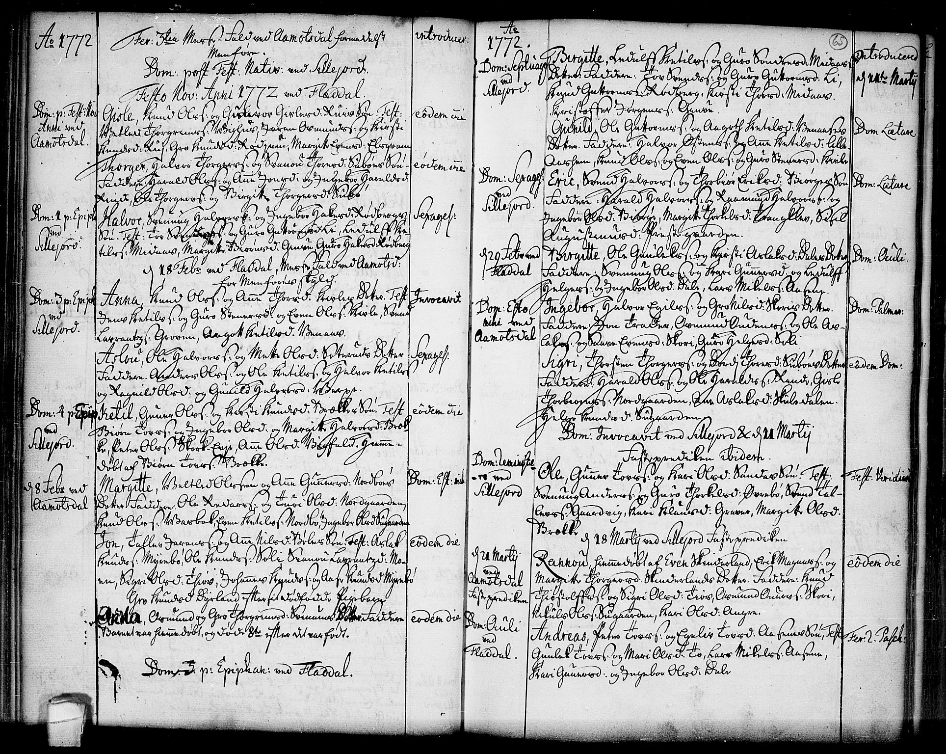 SAKO, Seljord kirkebøker, F/Fa/L0007: Ministerialbok nr. I 7, 1755-1800, s. 65