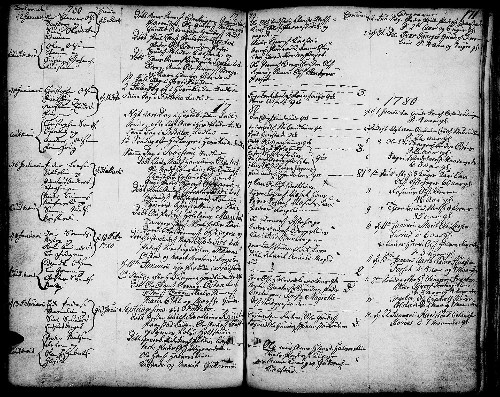 SAH, Gausdal prestekontor, Ministerialbok nr. 3, 1758-1809, s. 171