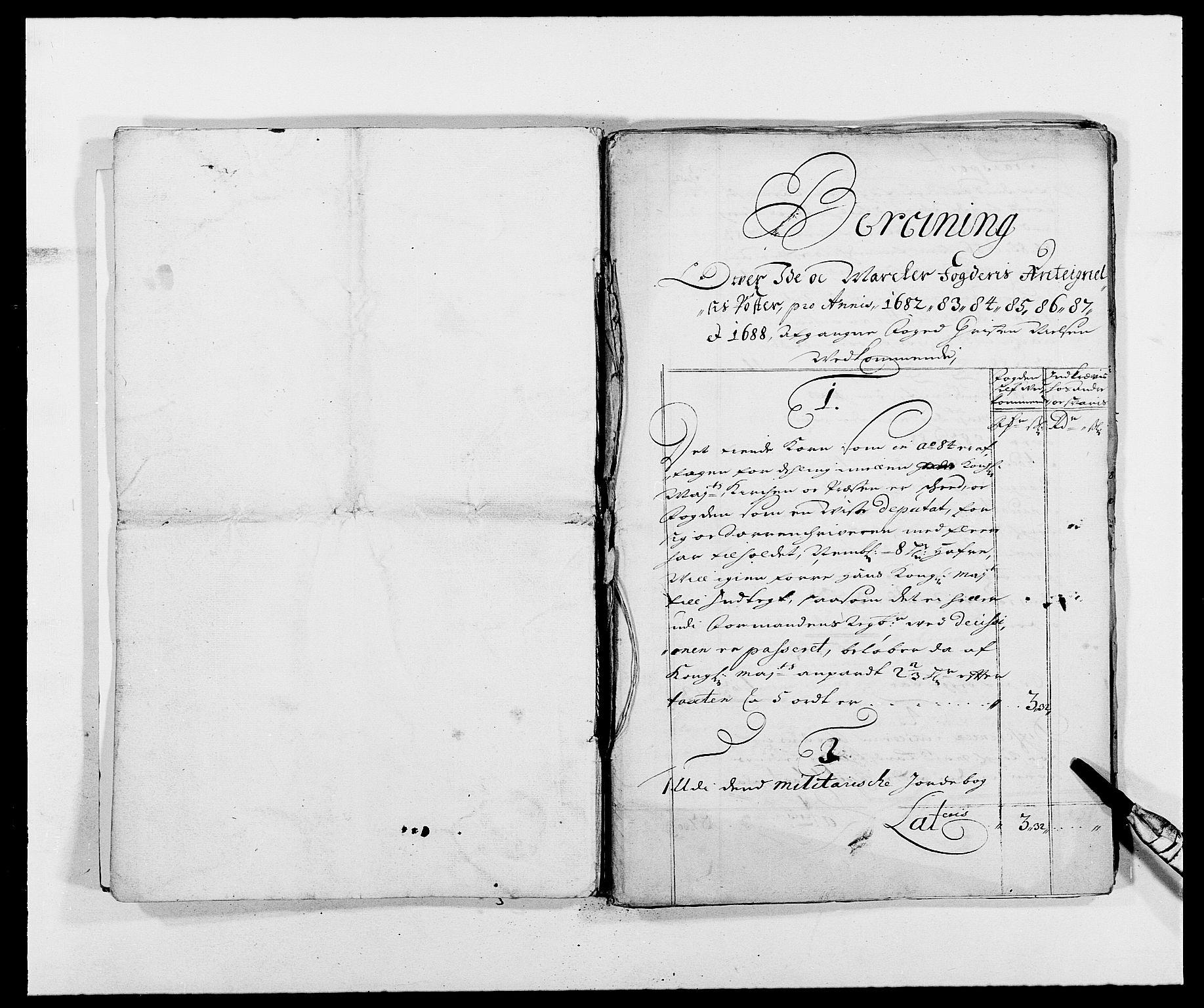 RA, Rentekammeret inntil 1814, Reviderte regnskaper, Fogderegnskap, R01/L0009: Fogderegnskap Idd og Marker, 1689, s. 314