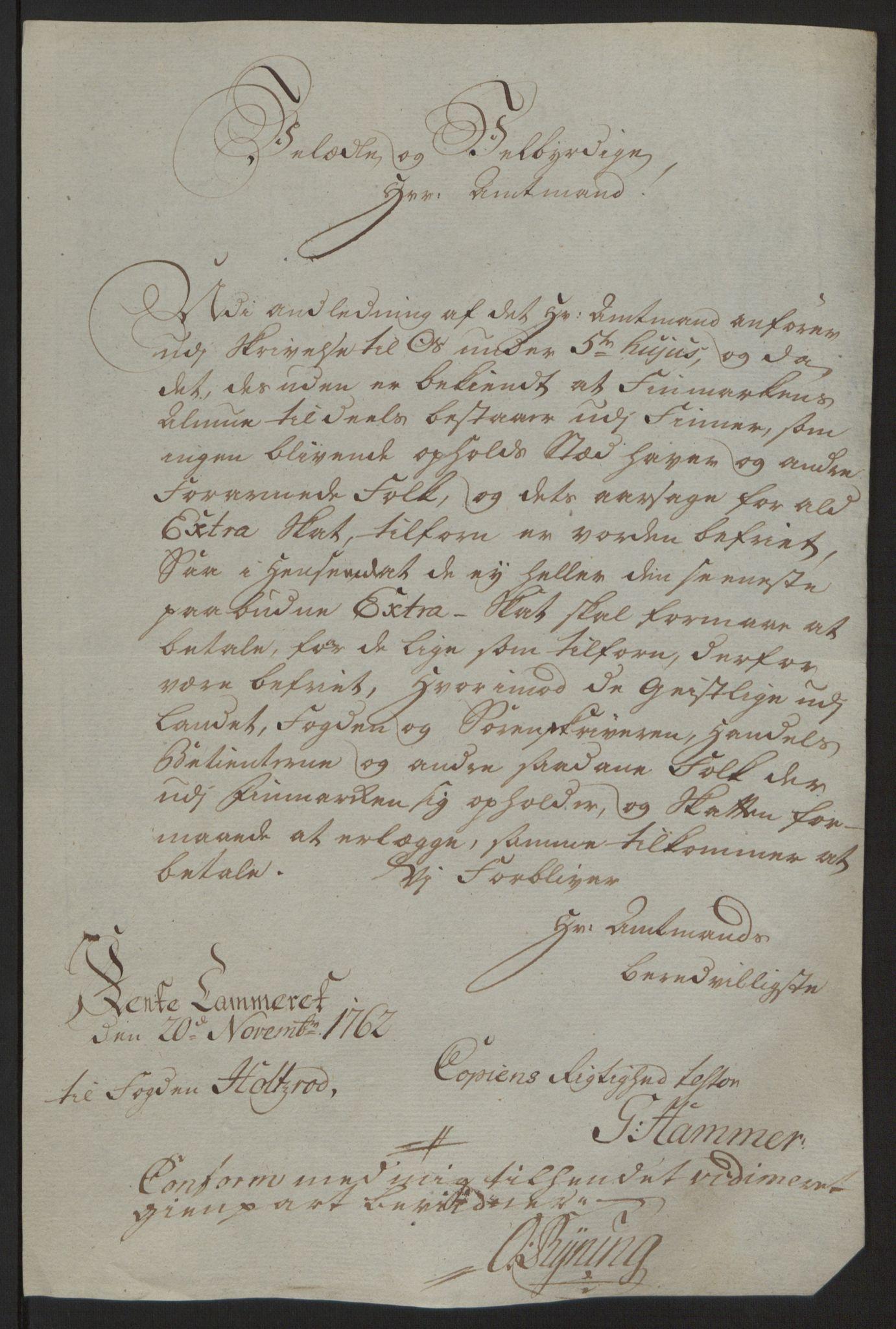 RA, Rentekammeret inntil 1814, Reviderte regnskaper, Fogderegnskap, R69/L4910: Ekstraskatten  Finnmark/Vardøhus, 1762-1772, s. 260