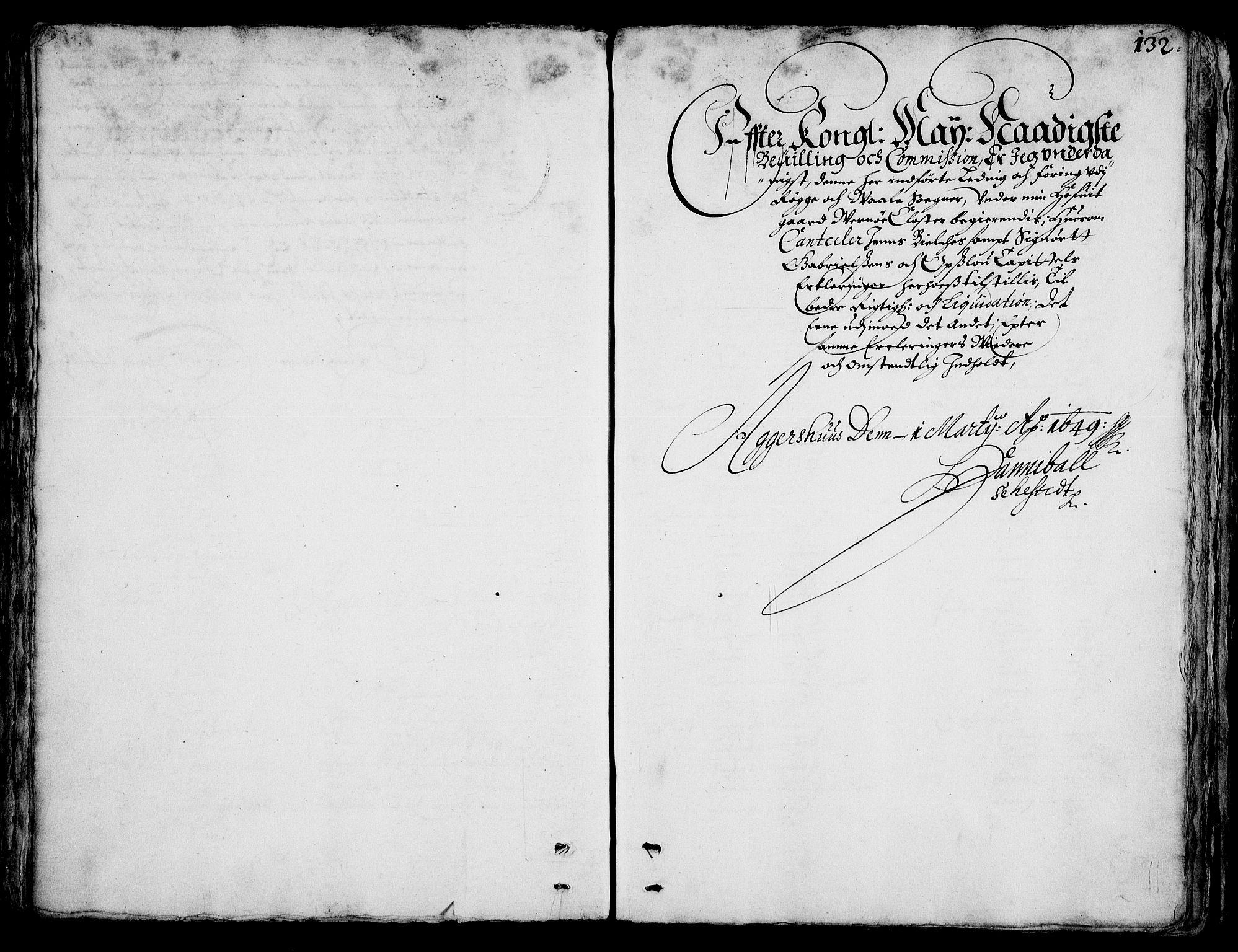 RA, Rentekammeret inntil 1814, Realistisk ordnet avdeling, On/L0001: Statens gods, 1651, s. 131b-132a