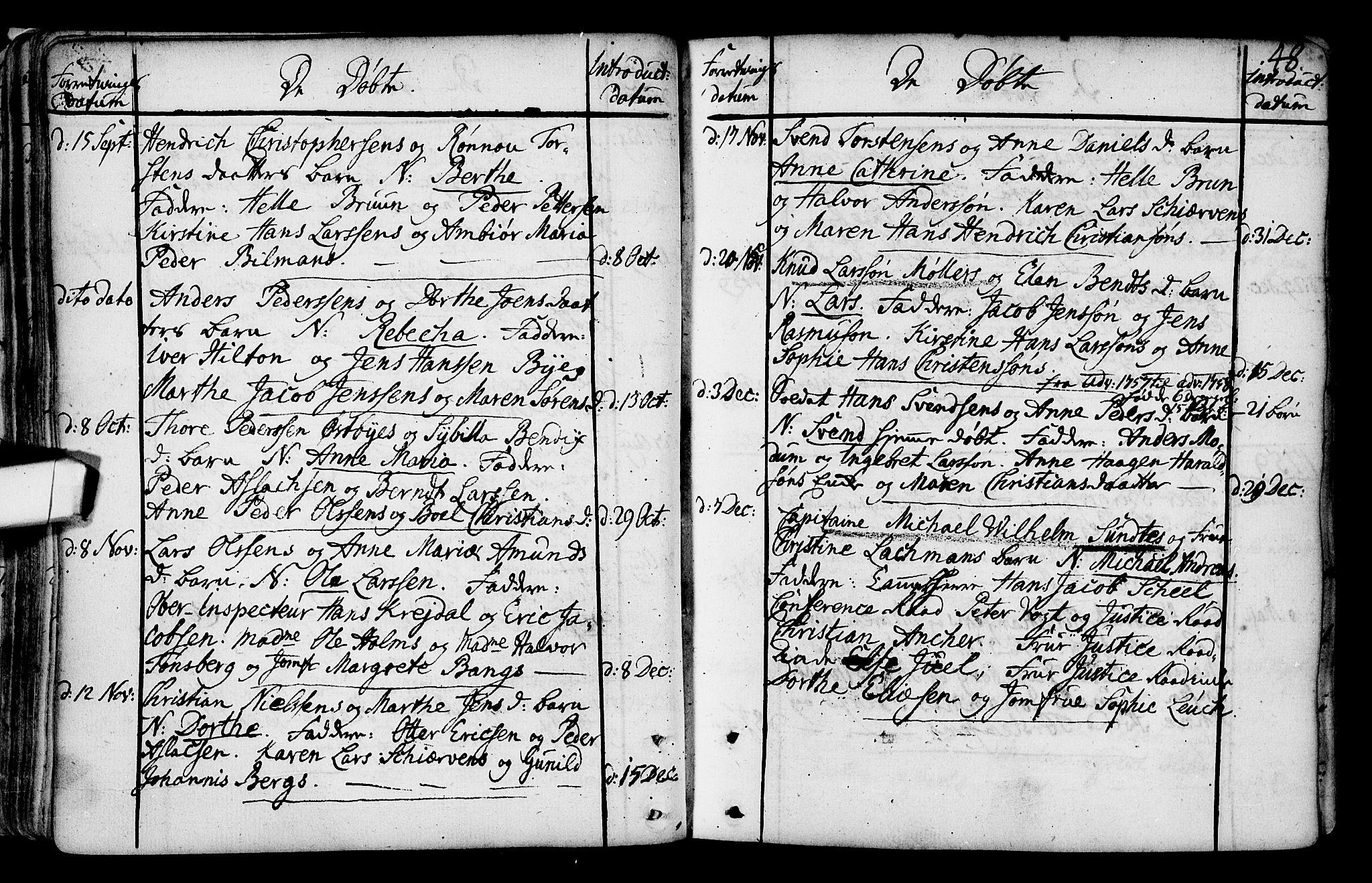 SAO, Gamlebyen prestekontor Kirkebøker, F/Fa/L0001: Ministerialbok nr. 1, 1734-1818, s. 48