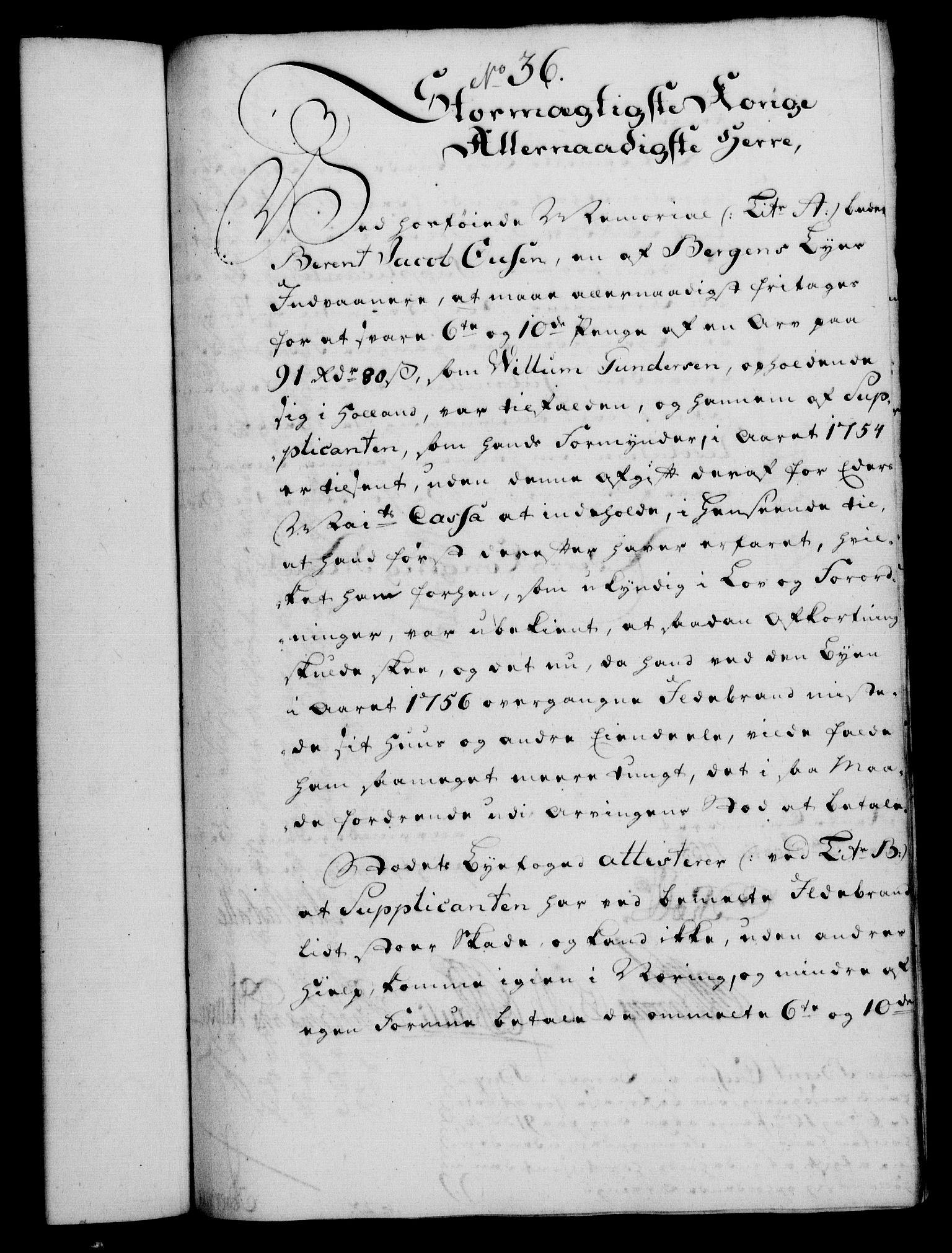 RA, Rentekammeret, Kammerkanselliet, G/Gf/Gfa/L0040: Norsk relasjons- og resolusjonsprotokoll (merket RK 52.40), 1758, s. 182