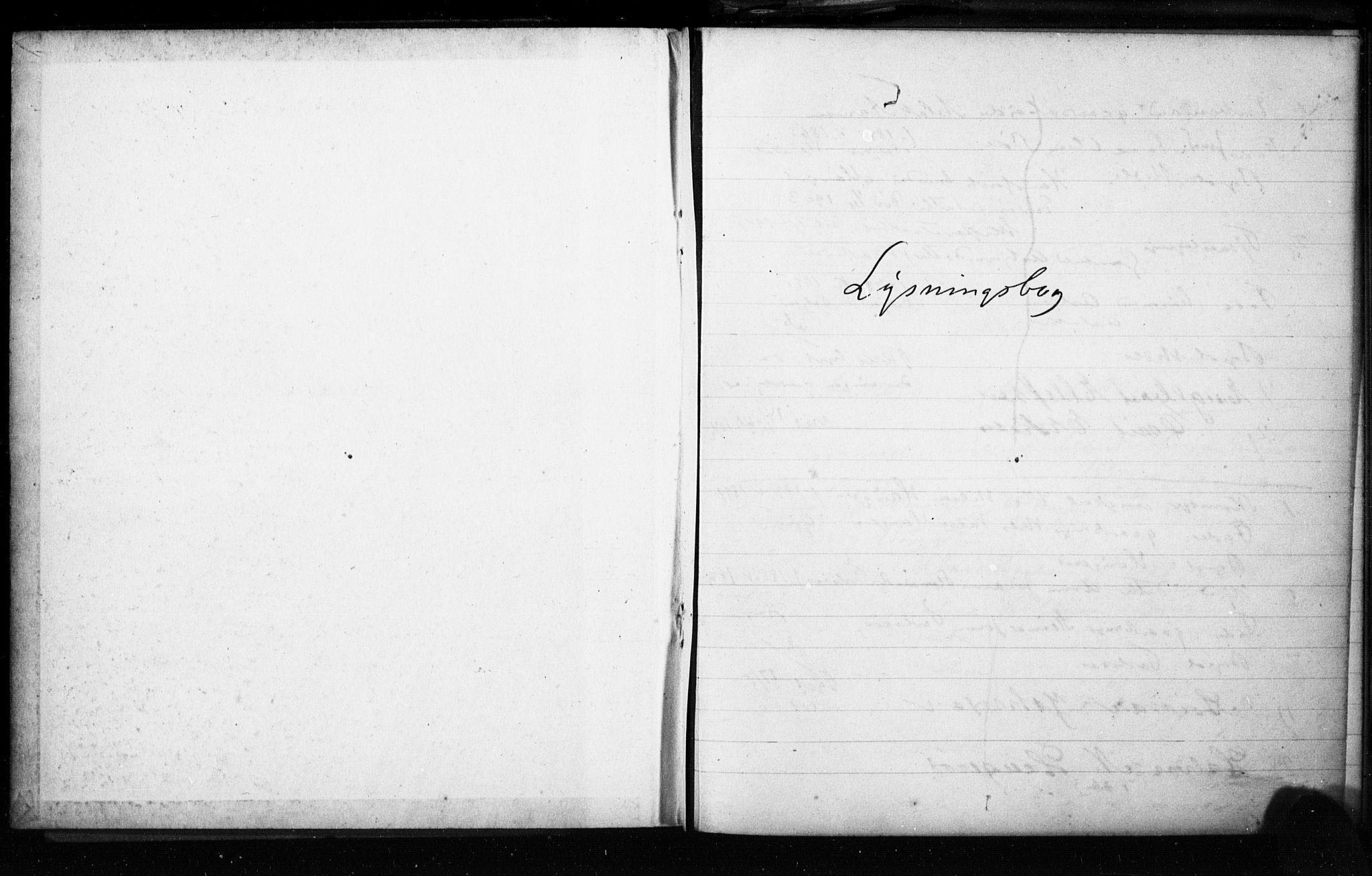 SAKO, Gjerpen kirkebøker, H/Ha/L0002: Lysningsprotokoll nr. I 2, 1908-1913
