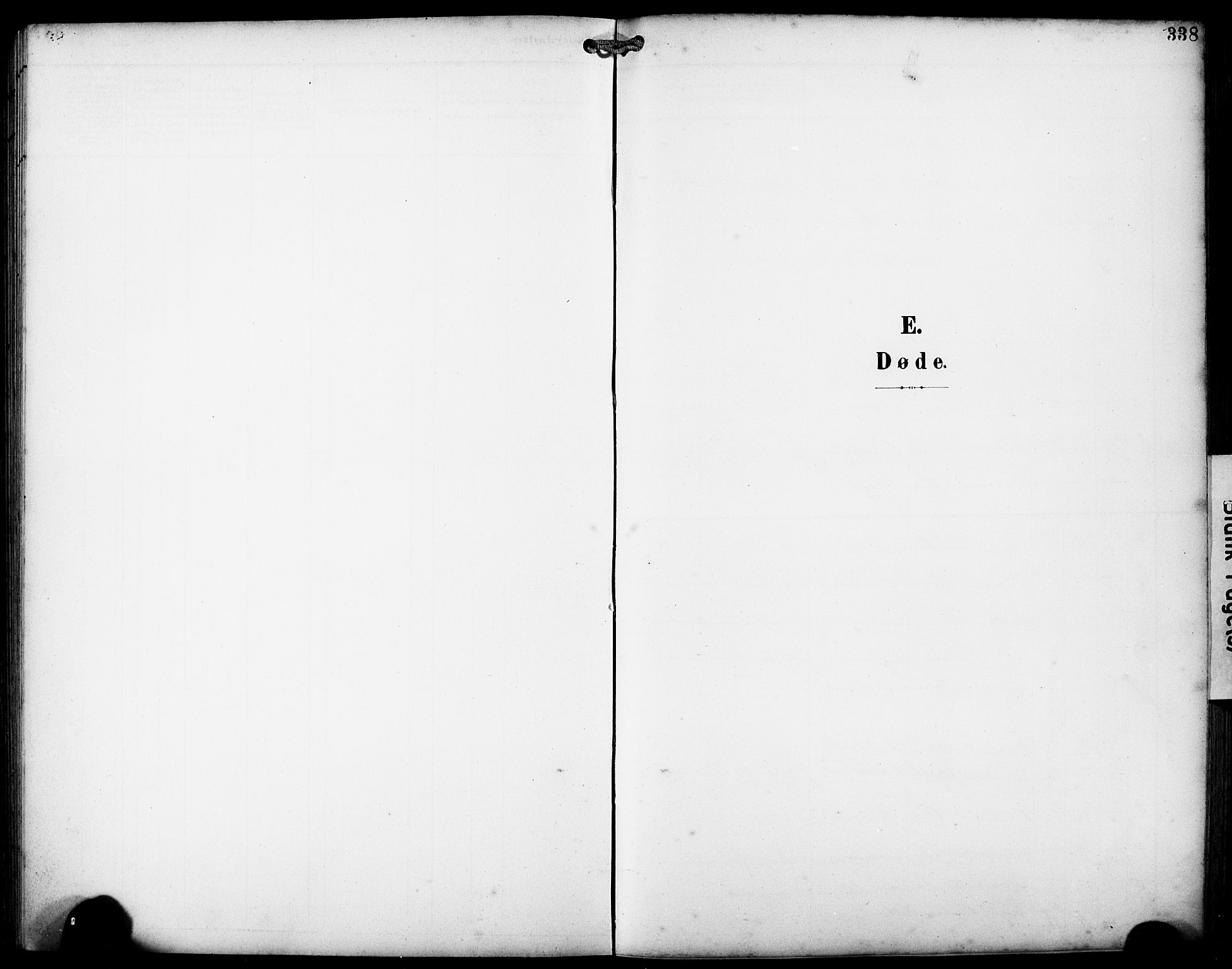 SAB, Fjell sokneprestembete, H/Hab: Klokkerbok nr. A 5, 1899-1918, s. 338