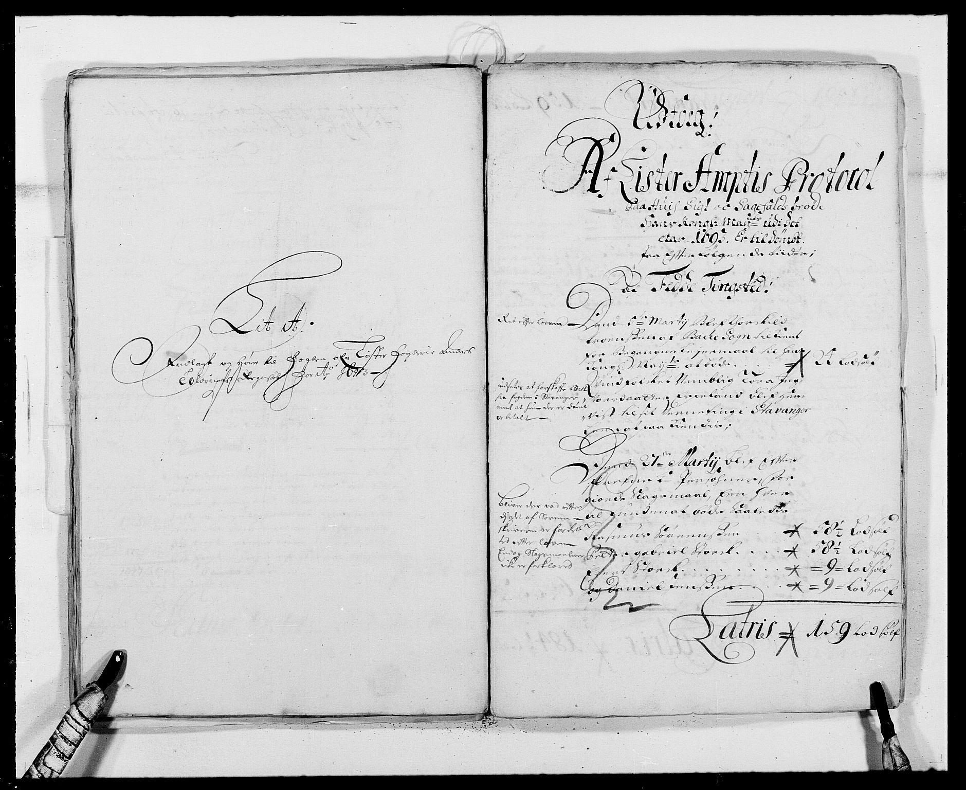 RA, Rentekammeret inntil 1814, Reviderte regnskaper, Fogderegnskap, R41/L2536: Fogderegnskap Lista, 1690-1693, s. 434