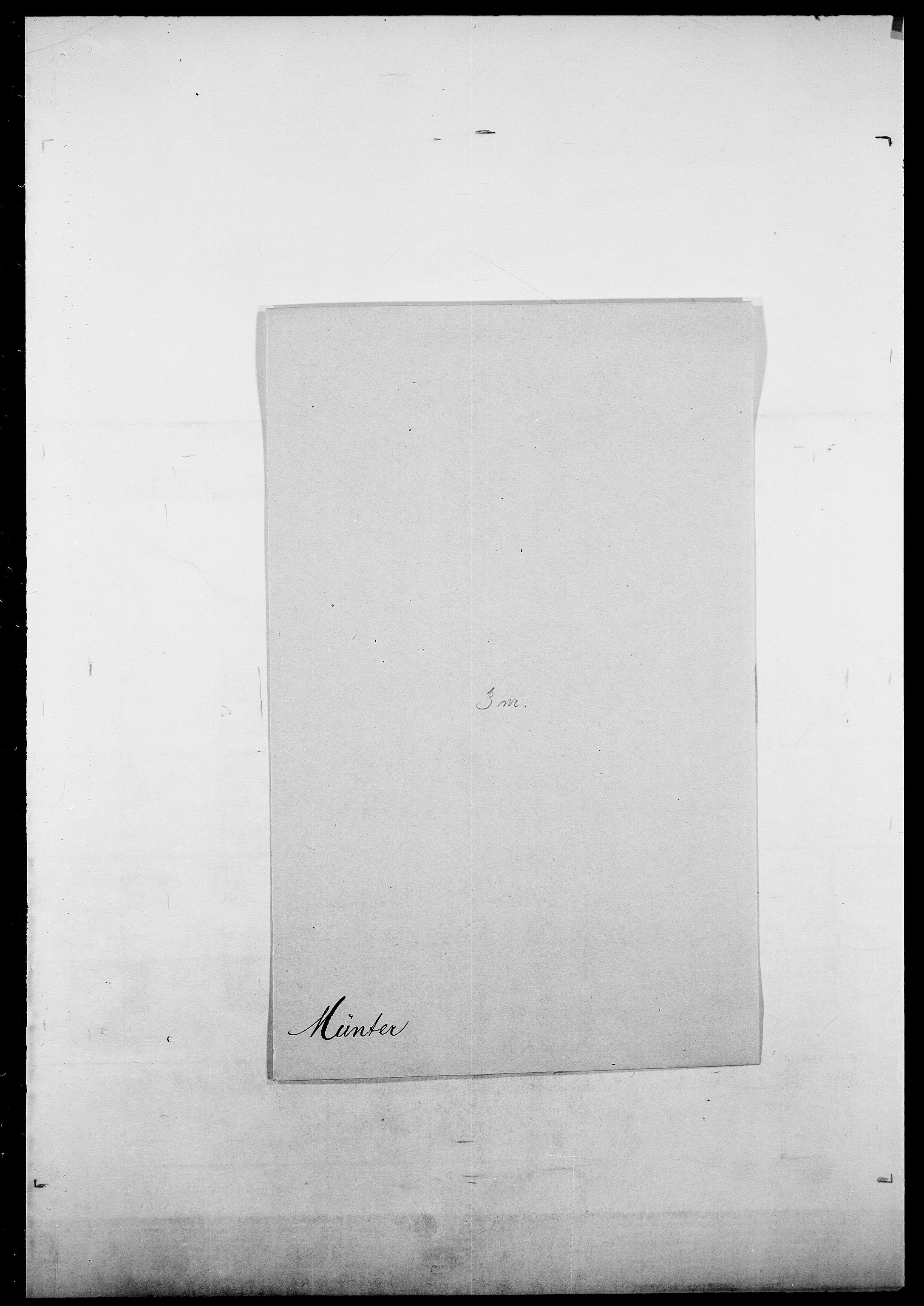 SAO, Delgobe, Charles Antoine - samling, D/Da/L0027: Morath - v. Møsting, s. 495
