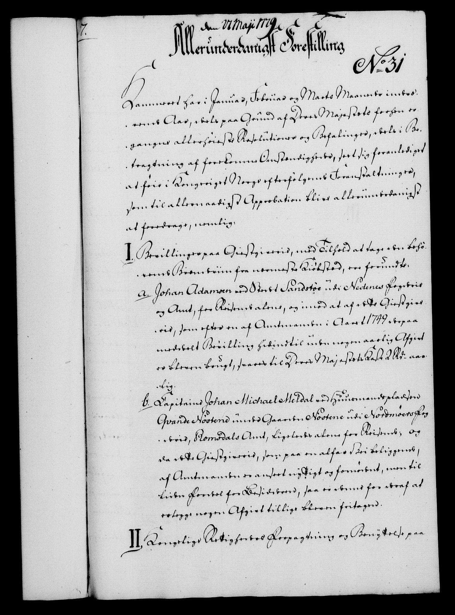 RA, Rentekammeret, Kammerkanselliet, G/Gf/Gfa/L0061: Norsk relasjons- og resolusjonsprotokoll (merket RK 52.61), 1779, s. 227