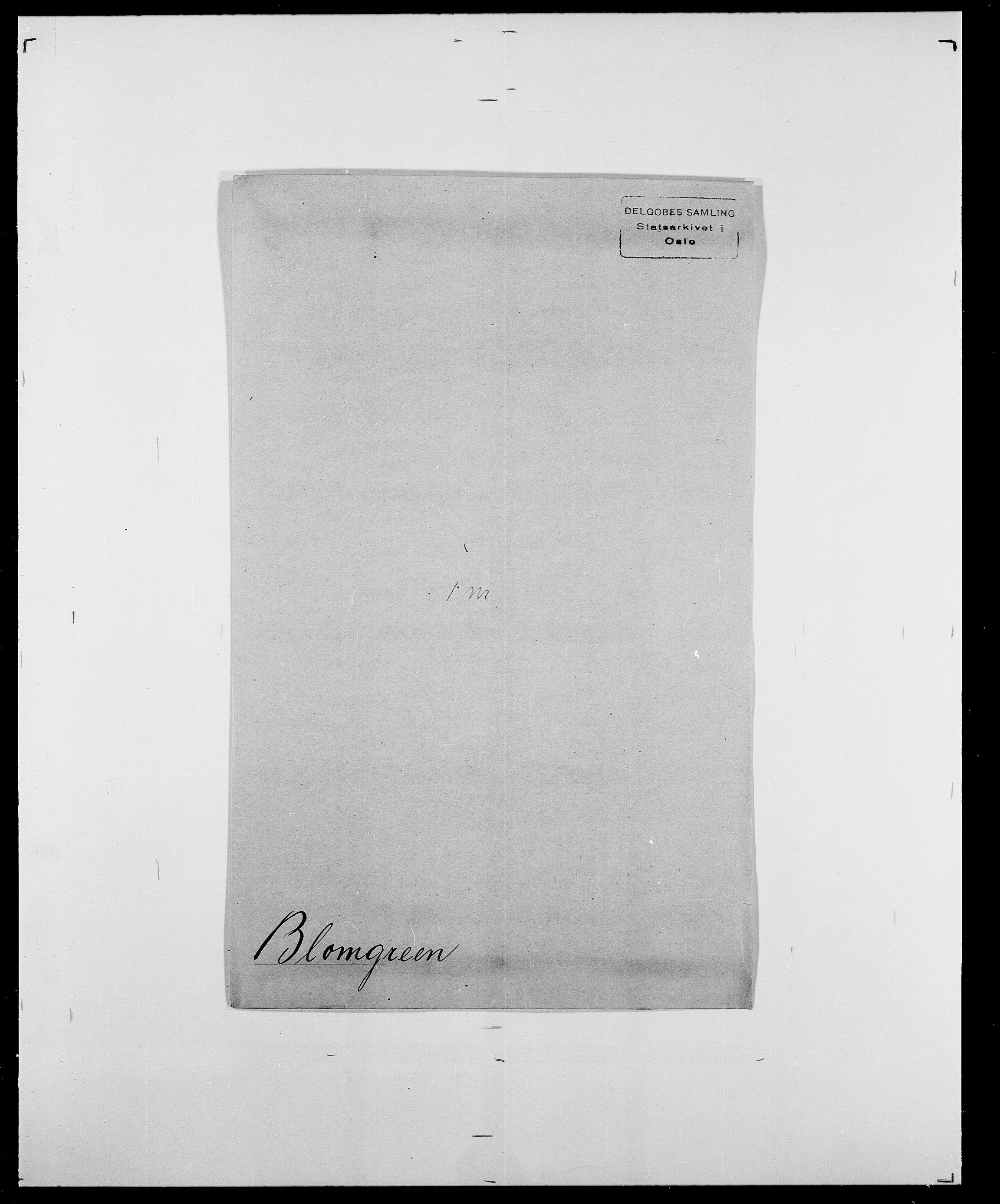 SAO, Delgobe, Charles Antoine - samling, D/Da/L0004: Bergendahl - Blære, s. 778
