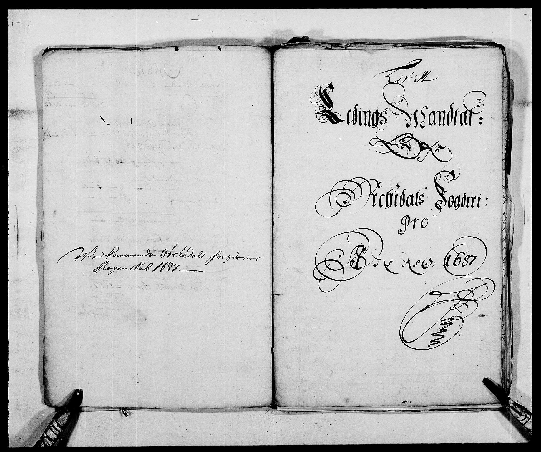 RA, Rentekammeret inntil 1814, Reviderte regnskaper, Fogderegnskap, R58/L3935: Fogderegnskap Orkdal, 1687-1688, s. 131