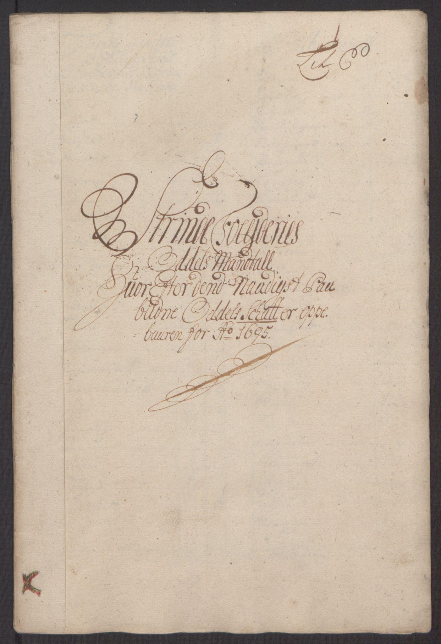 RA, Rentekammeret inntil 1814, Reviderte regnskaper, Fogderegnskap, R61/L4105: Fogderegnskap Strinda og Selbu, 1695, s. 40