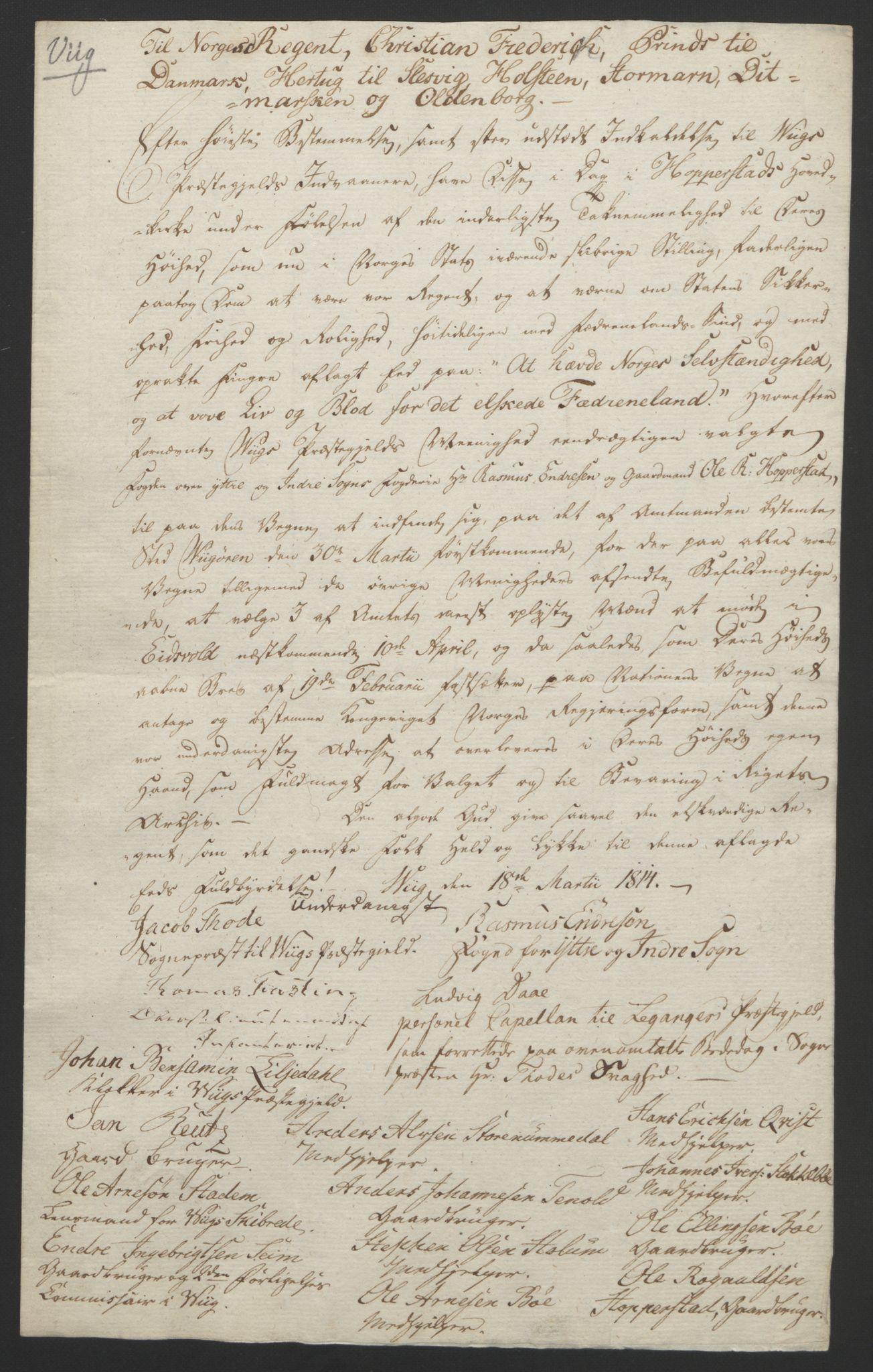 RA, Statsrådssekretariatet, D/Db/L0008: Fullmakter for Eidsvollsrepresentantene i 1814. , 1814, s. 346
