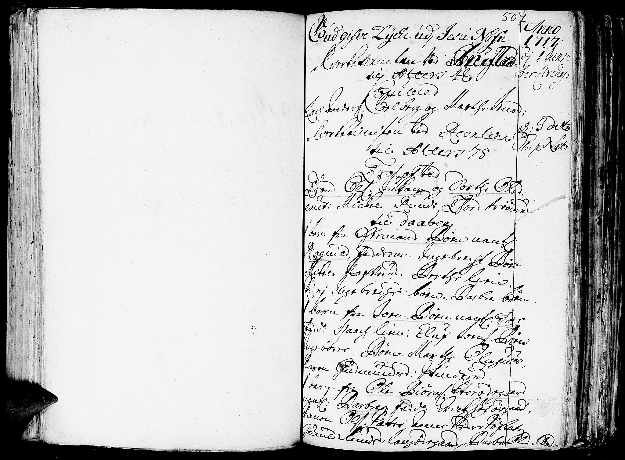 SAH, Aurdal prestekontor, Ministerialbok nr. 1-3, 1692-1730, s. 507
