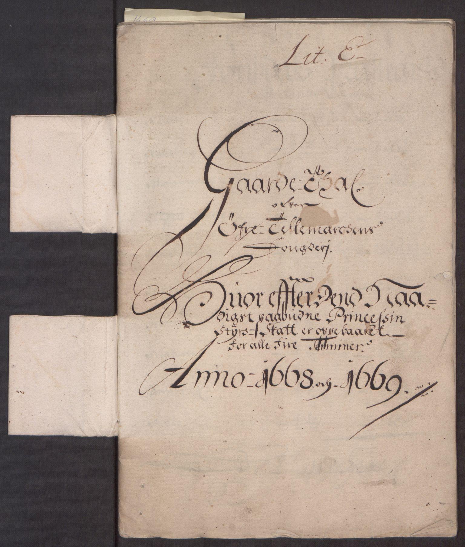 RA, Rentekammeret inntil 1814, Reviderte regnskaper, Fogderegnskap, R35/L2059: Fogderegnskap Øvre og Nedre Telemark, 1668-1670, s. 14