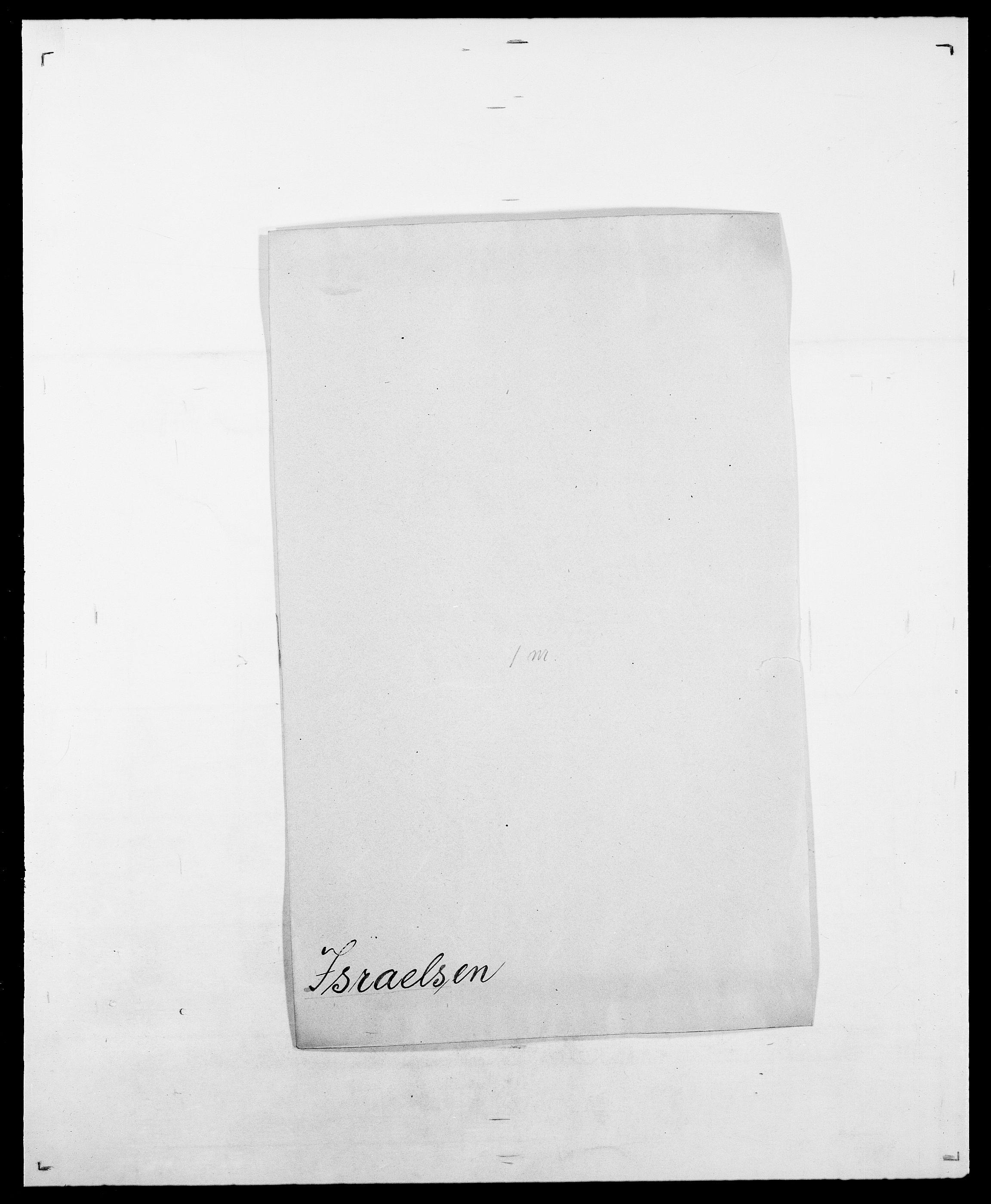 SAO, Delgobe, Charles Antoine - samling, D/Da/L0020: Irgens - Kjøsterud, s. 66