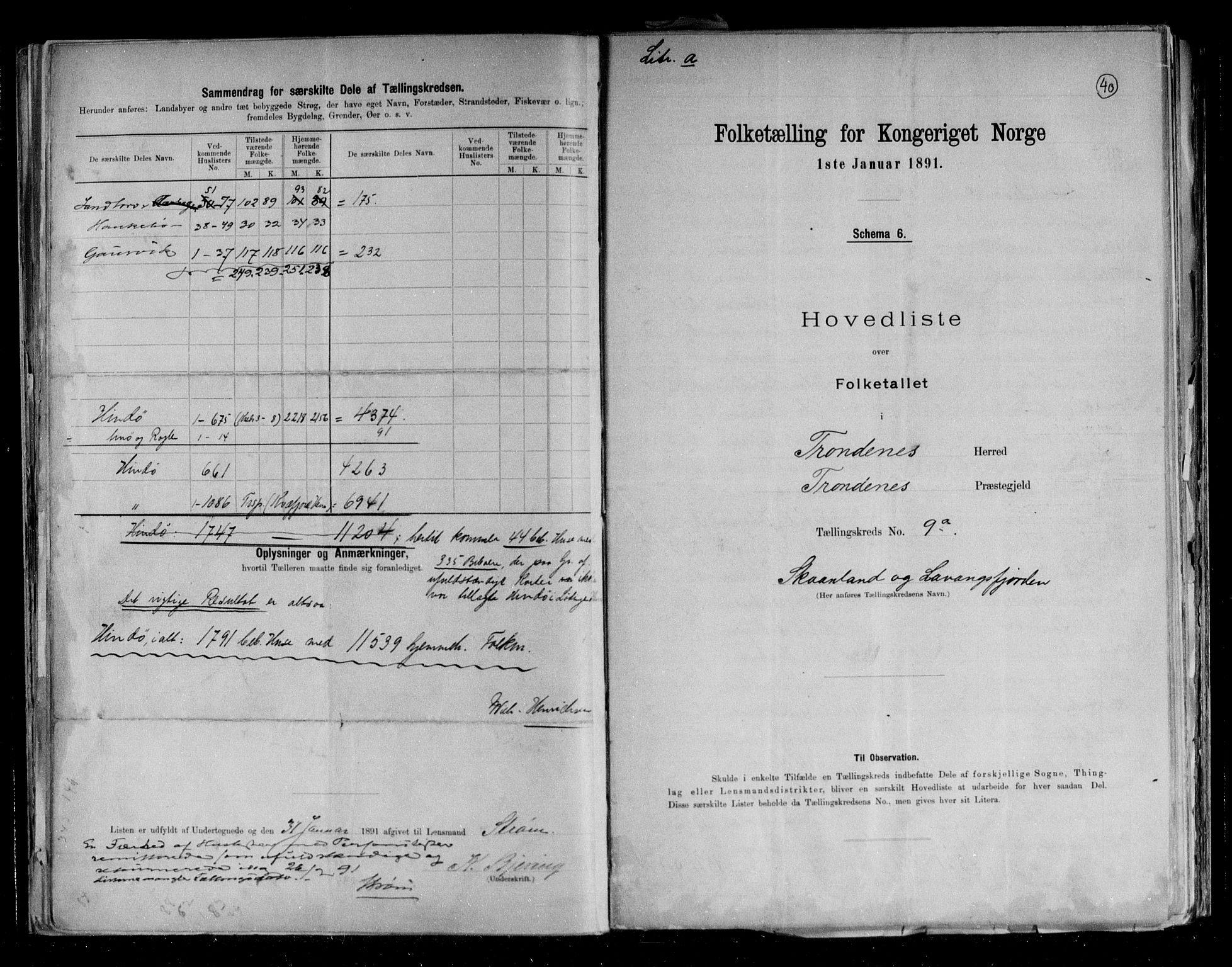 RA, Folketelling 1891 for 1914 Trondenes herred, 1891, s. 24