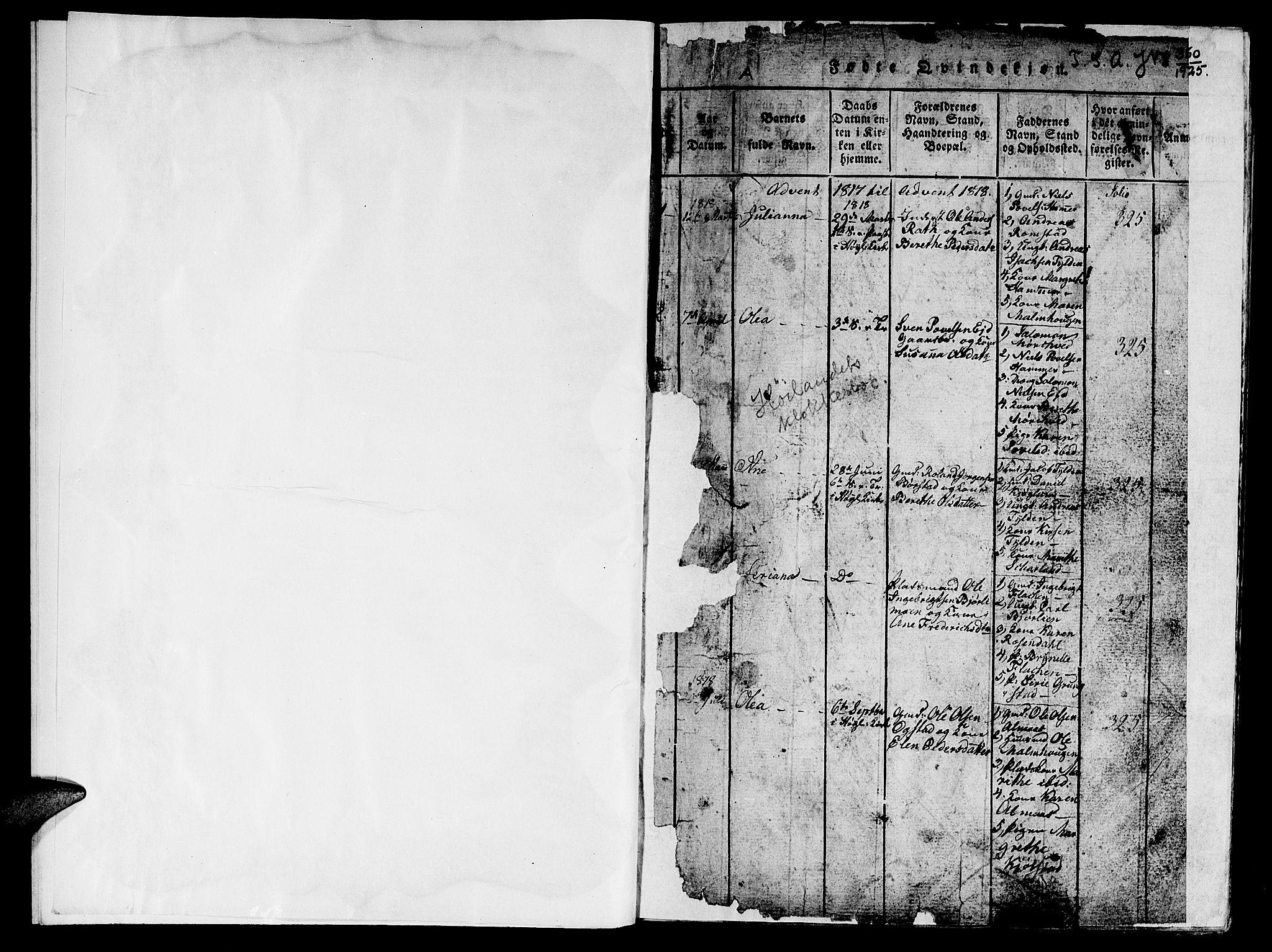 SAT, Ministerialprotokoller, klokkerbøker og fødselsregistre - Nord-Trøndelag, 765/L0562: Klokkerbok nr. 765C01, 1817-1851, s. 3