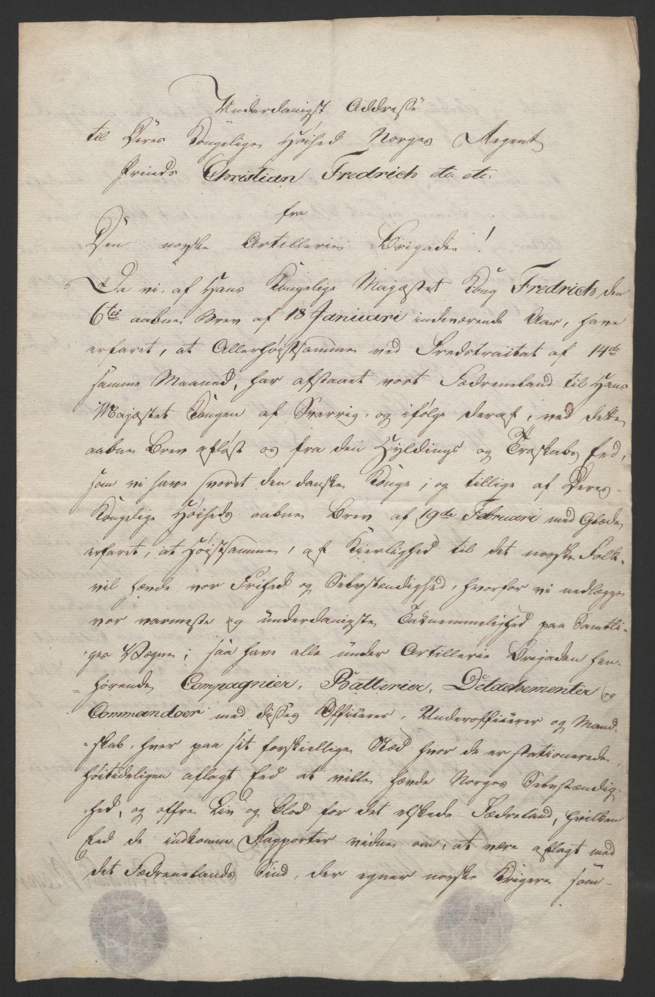 RA, Statsrådssekretariatet, D/Db/L0007: Fullmakter for Eidsvollsrepresentantene i 1814. , 1814, s. 71