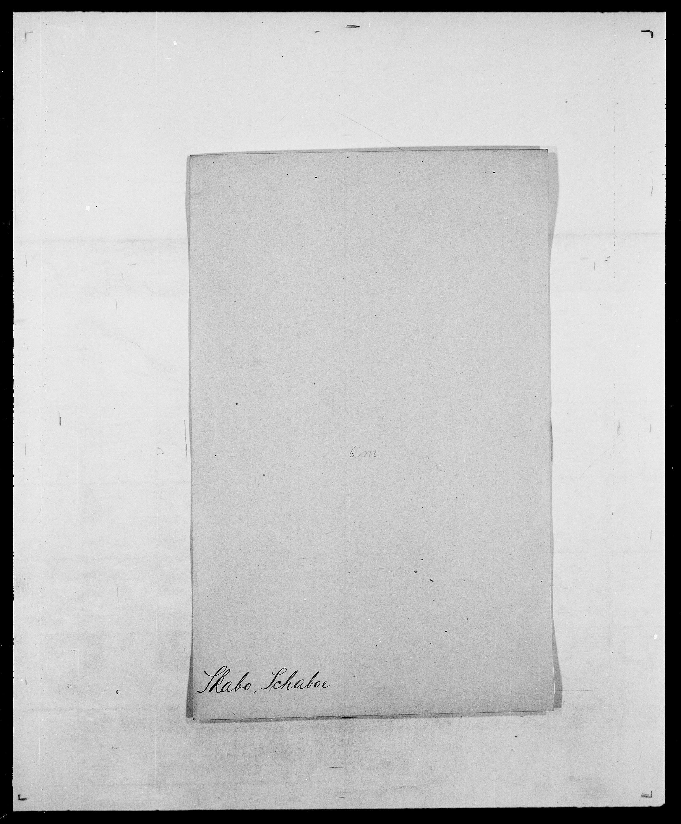 SAO, Delgobe, Charles Antoine - samling, D/Da/L0036: Skaanør - Staverskov, s. 13