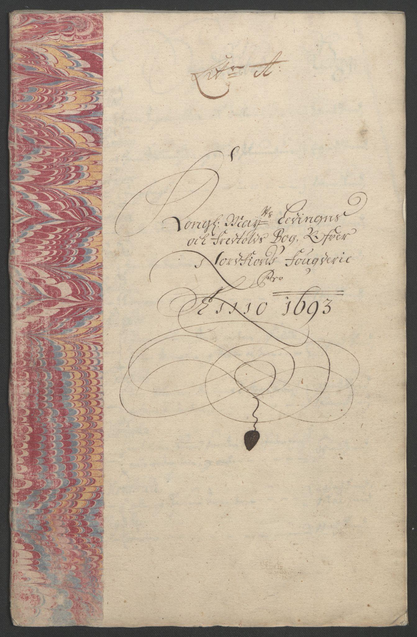 RA, Rentekammeret inntil 1814, Reviderte regnskaper, Fogderegnskap, R53/L3421: Fogderegnskap Sunn- og Nordfjord, 1693-1694, s. 127