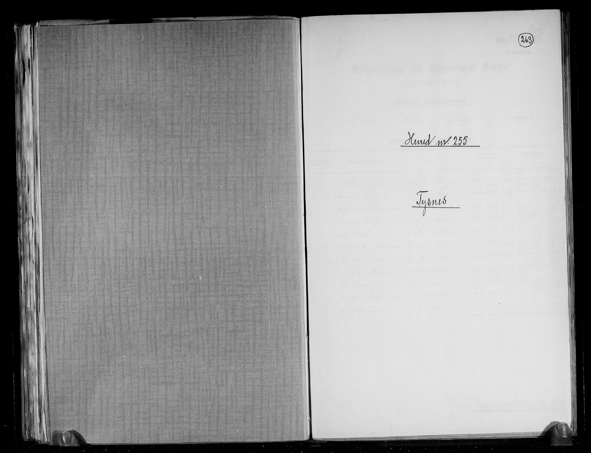 RA, Folketelling 1891 for 1223 Tysnes herred, 1891, s. 1
