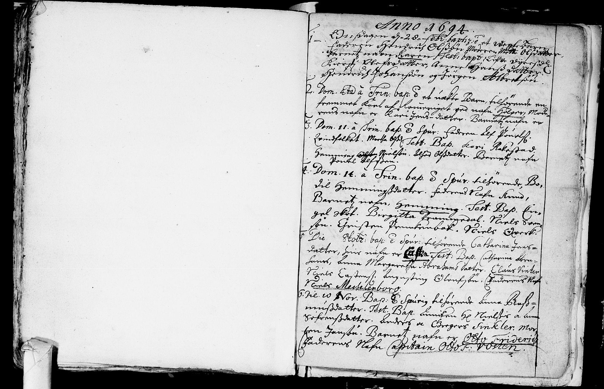 SAKO, Eiker kirkebøker, F/Fa/L0001: Ministerialbok nr. I 1 /1, 1683-1704