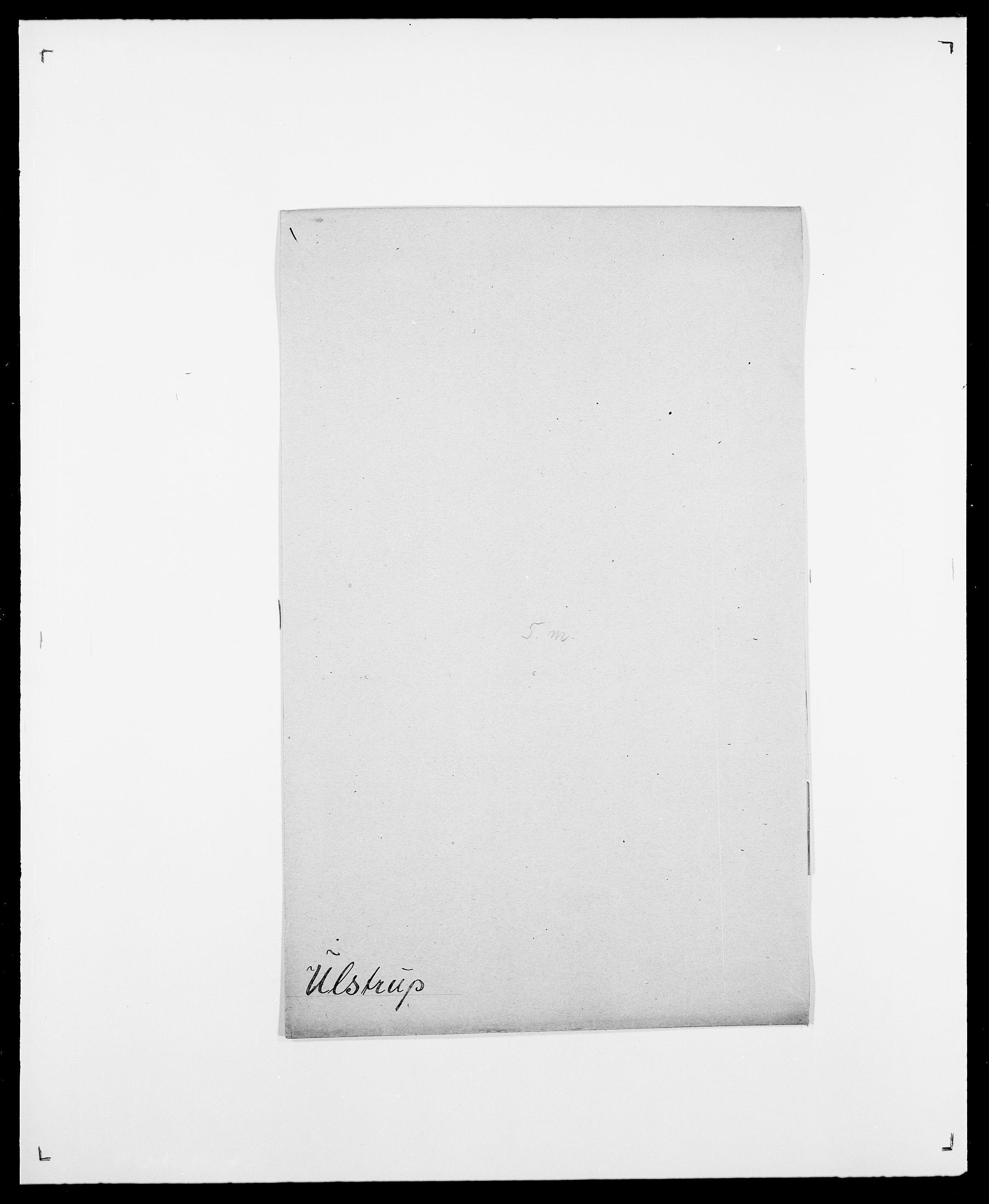 SAO, Delgobe, Charles Antoine - samling, D/Da/L0039: Thorsen - Urup, s. 703