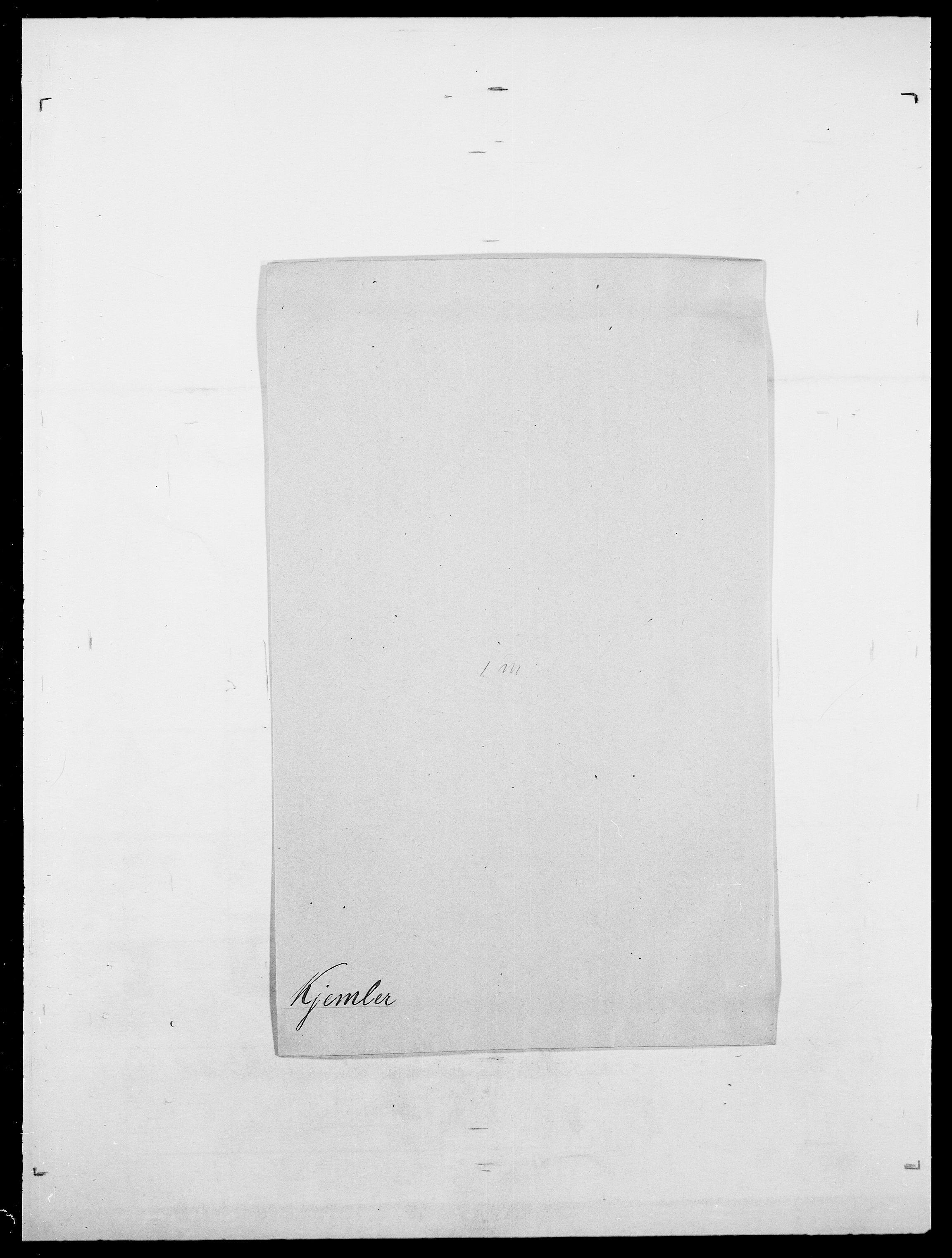 SAO, Delgobe, Charles Antoine - samling, D/Da/L0020: Irgens - Kjøsterud, s. 747