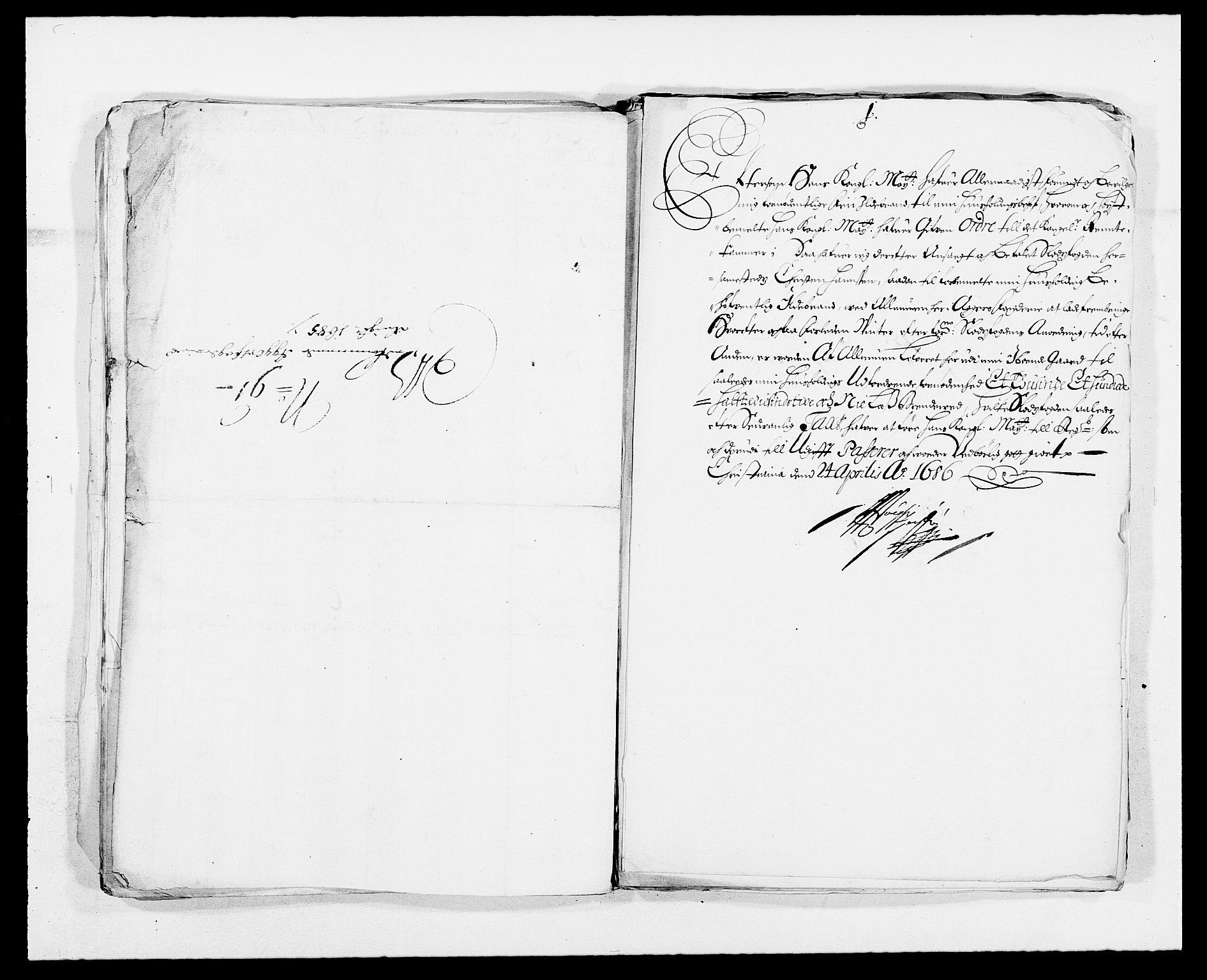 RA, Rentekammeret inntil 1814, Reviderte regnskaper, Fogderegnskap, R08/L0424: Fogderegnskap Aker, 1682-1689, s. 174