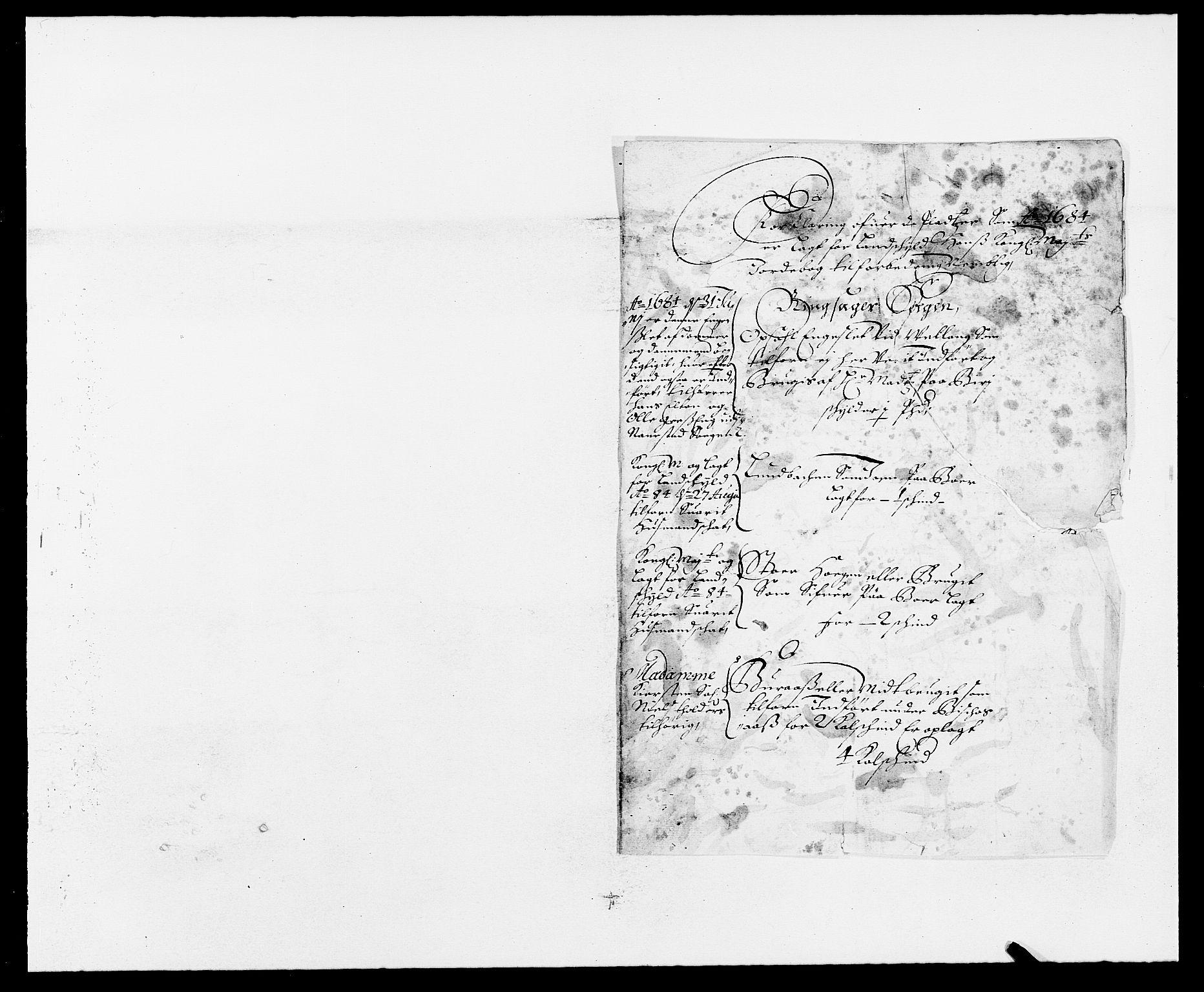 RA, Rentekammeret inntil 1814, Reviderte regnskaper, Fogderegnskap, R16/L1025: Fogderegnskap Hedmark, 1684, s. 16