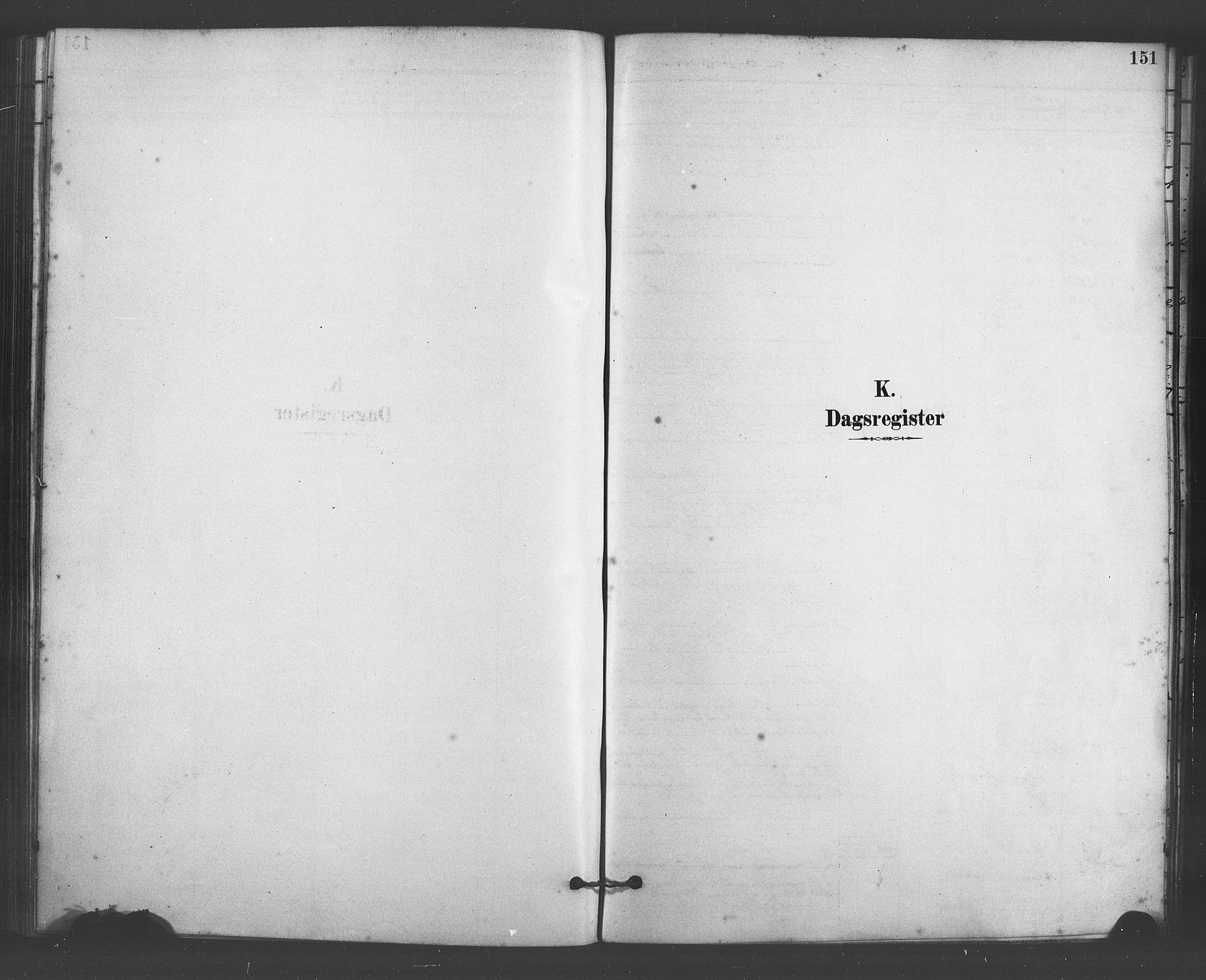 SAB, Fana Sokneprestembete, H/Haa/Haab/L0001: Ministerialbok nr. B 1, 1878-1889, s. 151