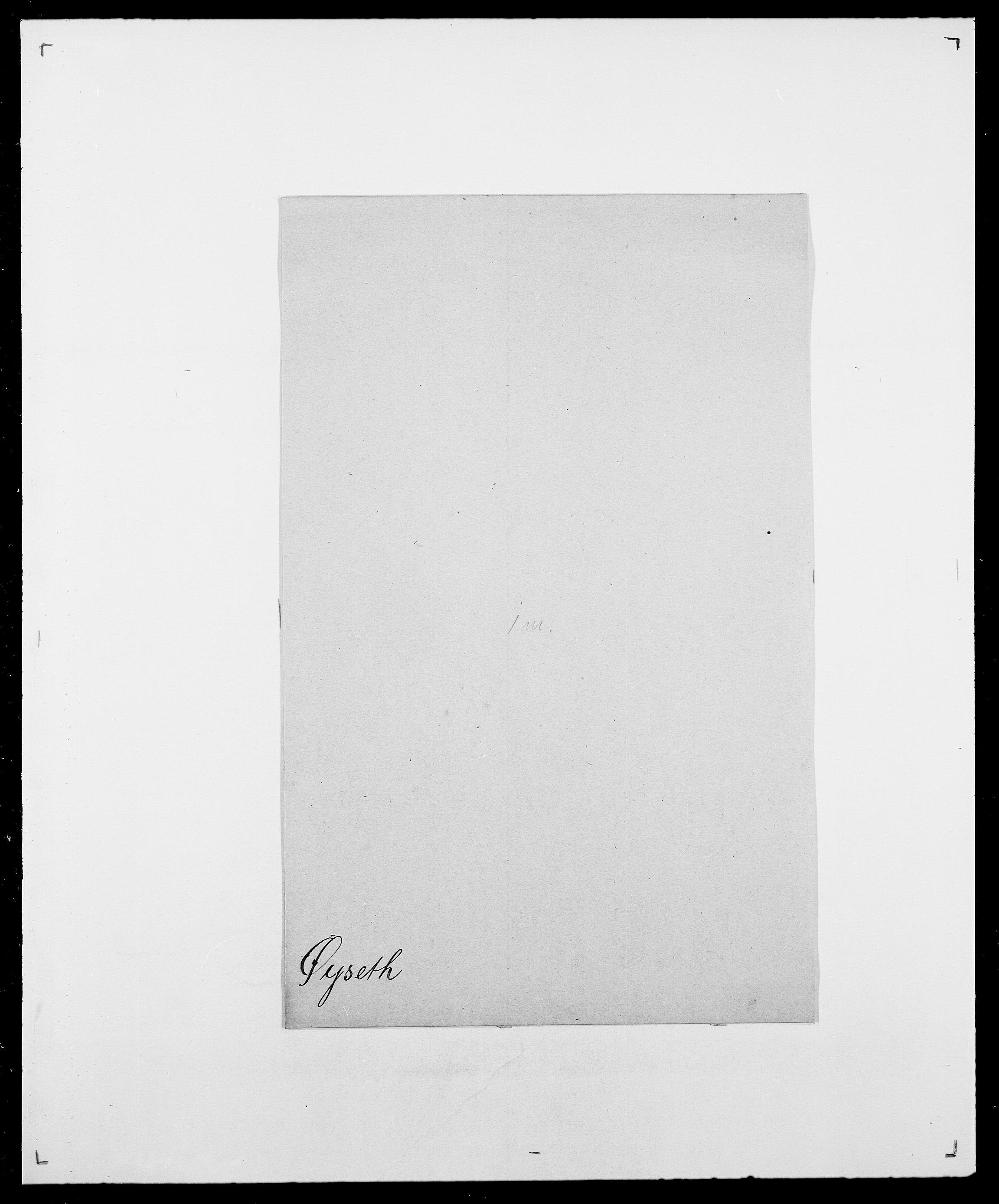 SAO, Delgobe, Charles Antoine - samling, D/Da/L0043: Wulfsberg - v. Zanten, s. 426