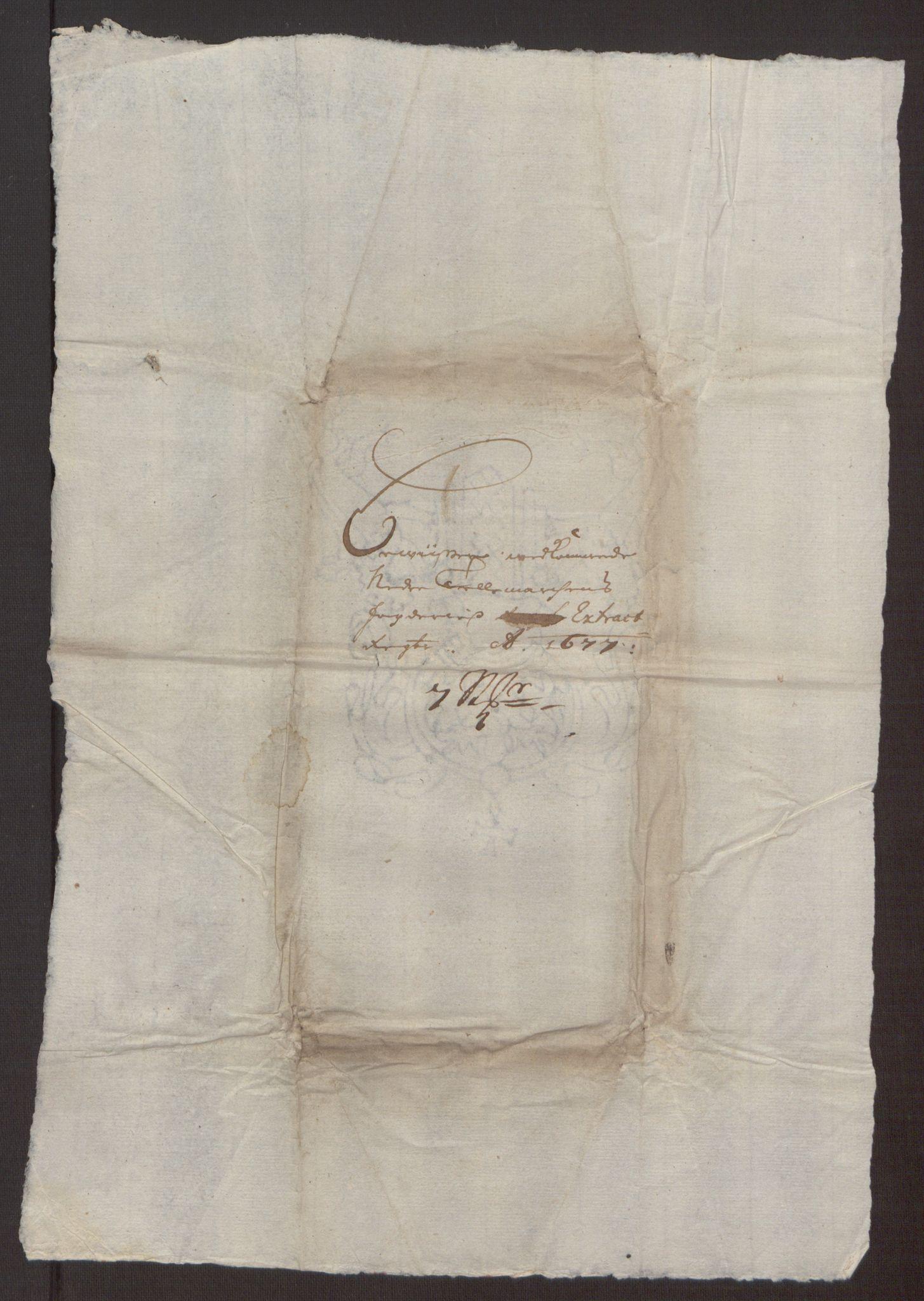 RA, Rentekammeret inntil 1814, Reviderte regnskaper, Fogderegnskap, R35/L2068: Fogderegnskap Øvre og Nedre Telemark, 1677, s. 209