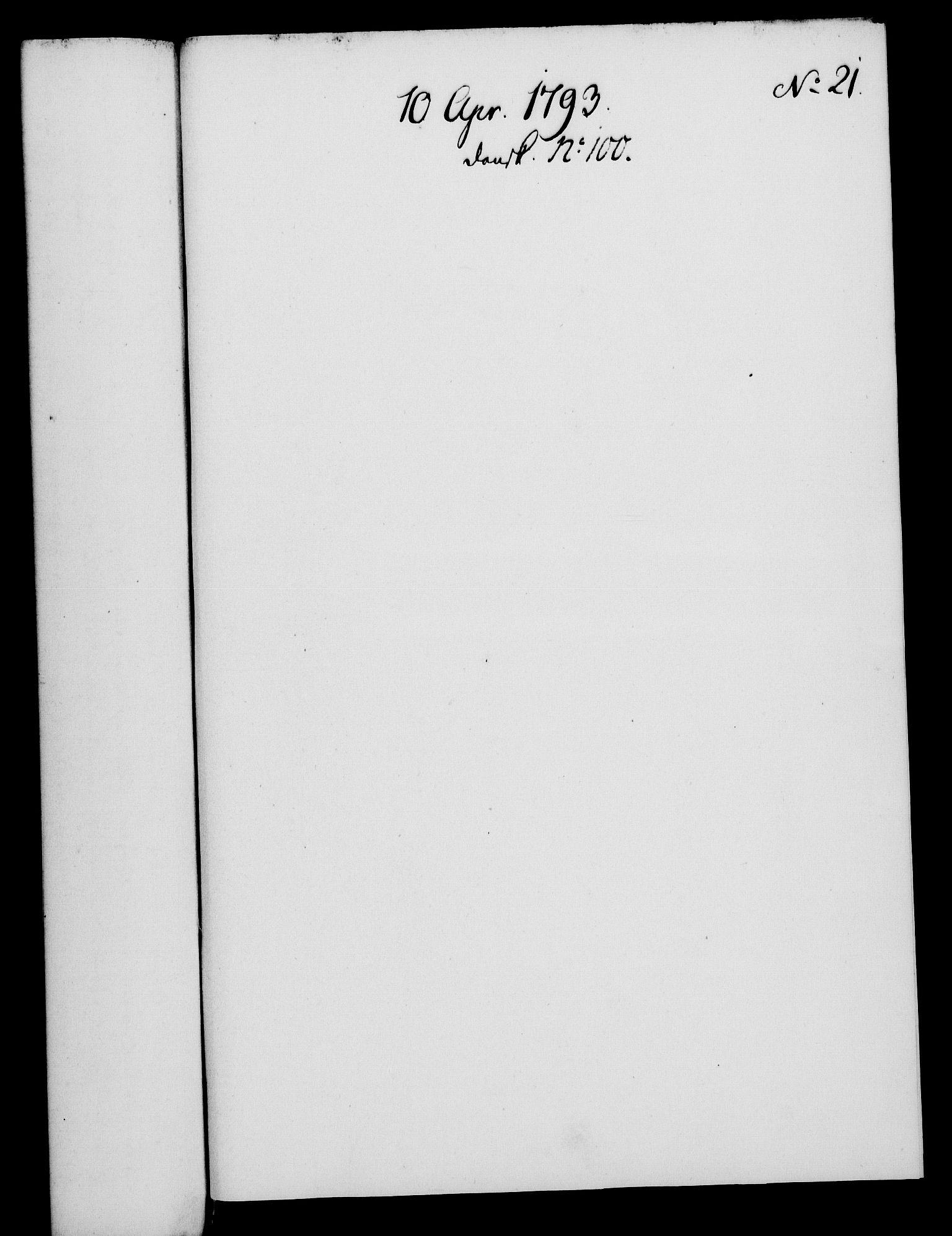 RA, Rentekammeret, Kammerkanselliet, G/Gf/Gfa/L0075: Norsk relasjons- og resolusjonsprotokoll (merket RK 52.75), 1793, s. 111